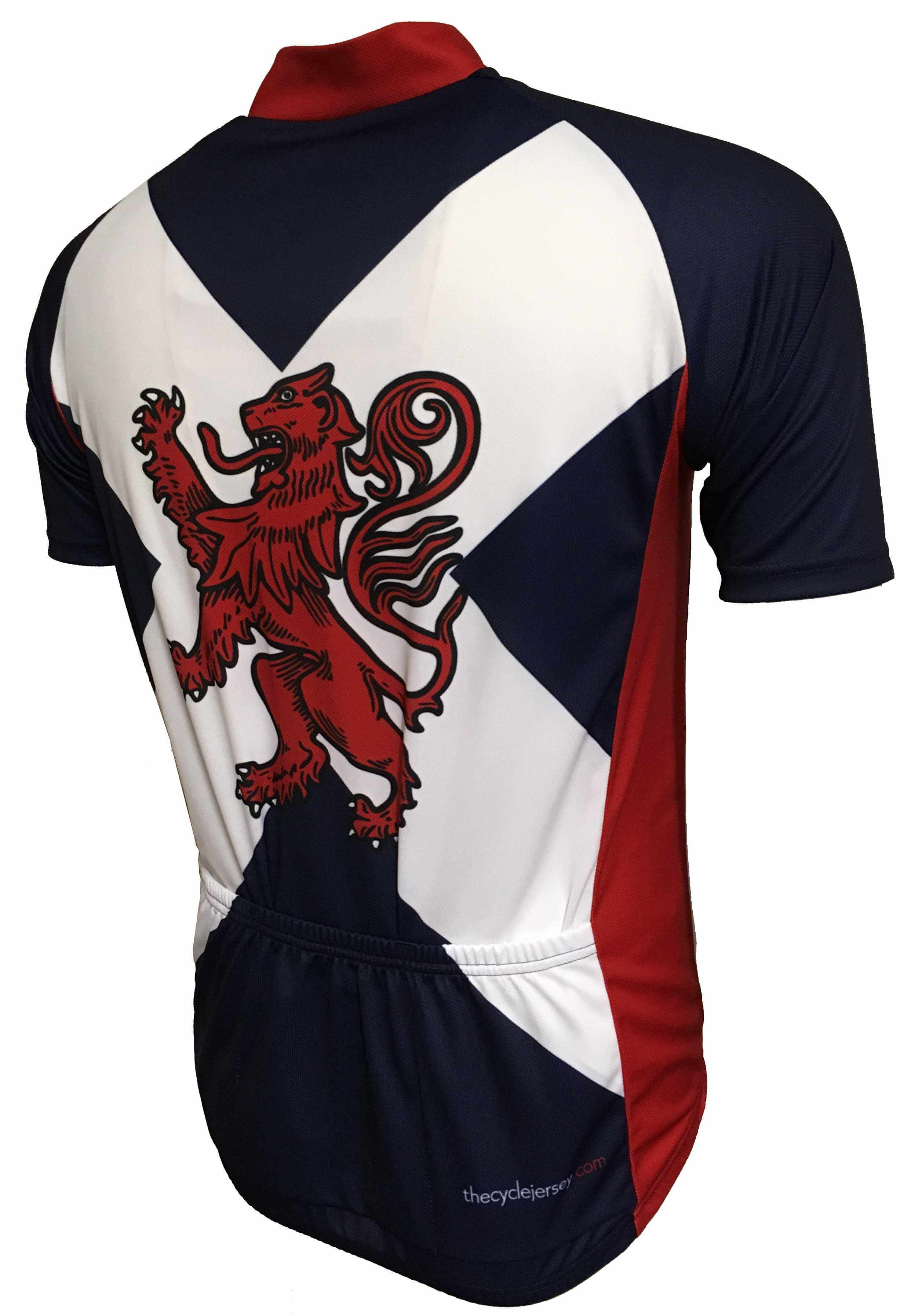 Rampant Lion Road Jersey Back