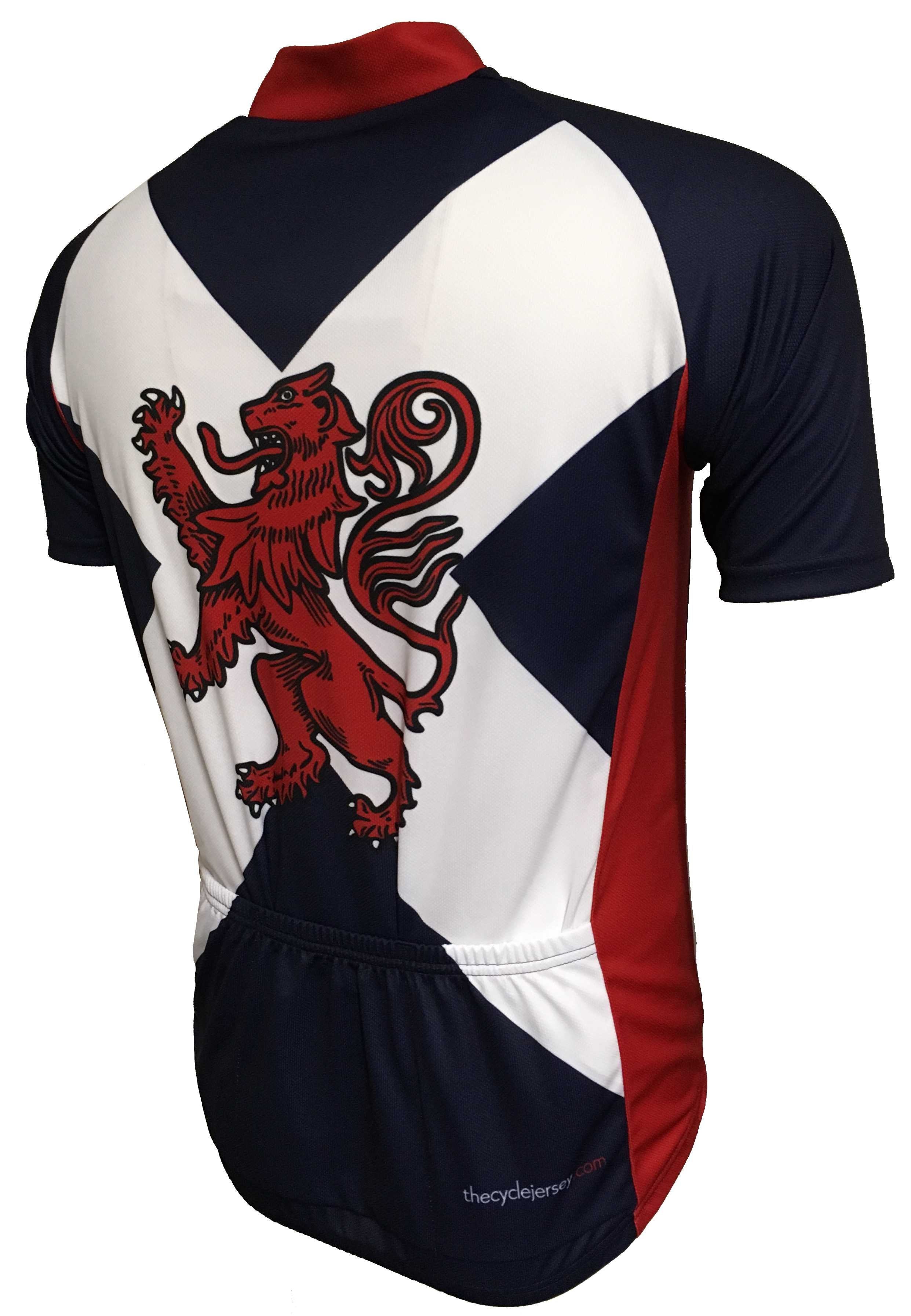 Rampant Lion Enduro Cycling Jersey Back