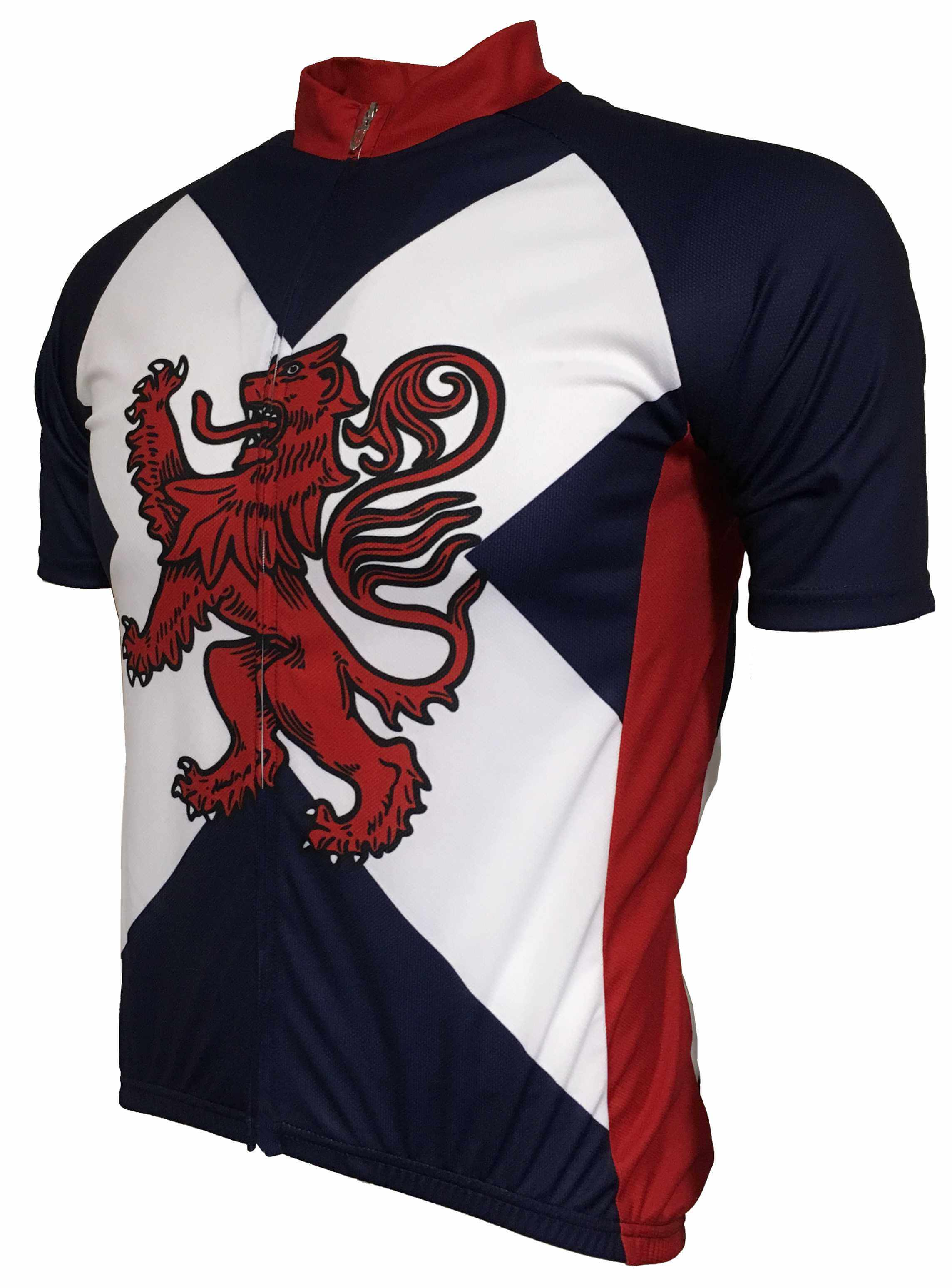 Rampant Lion Kids Cycle Jersey Front