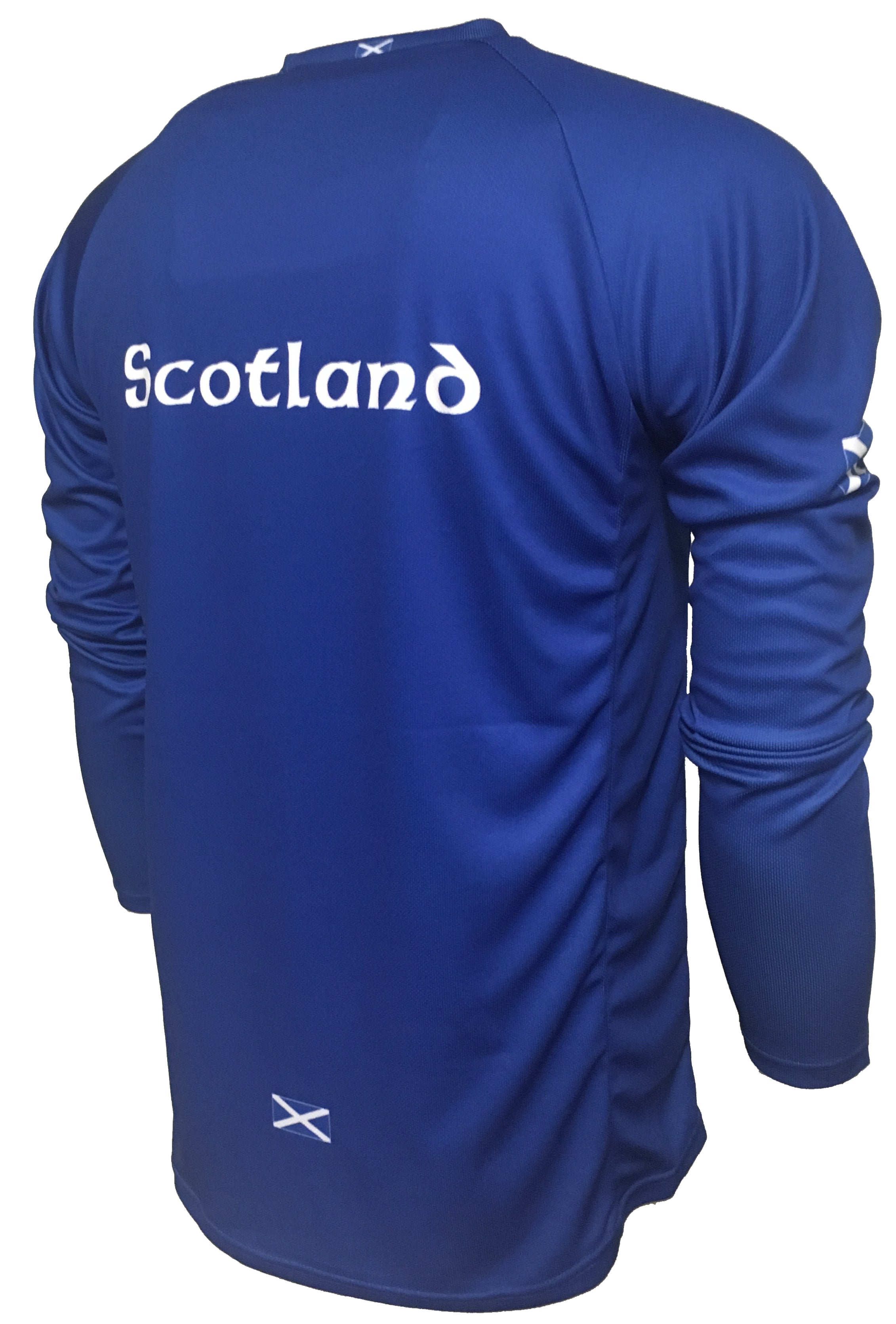 Scotland Original Enduro Cycle Jersey Back