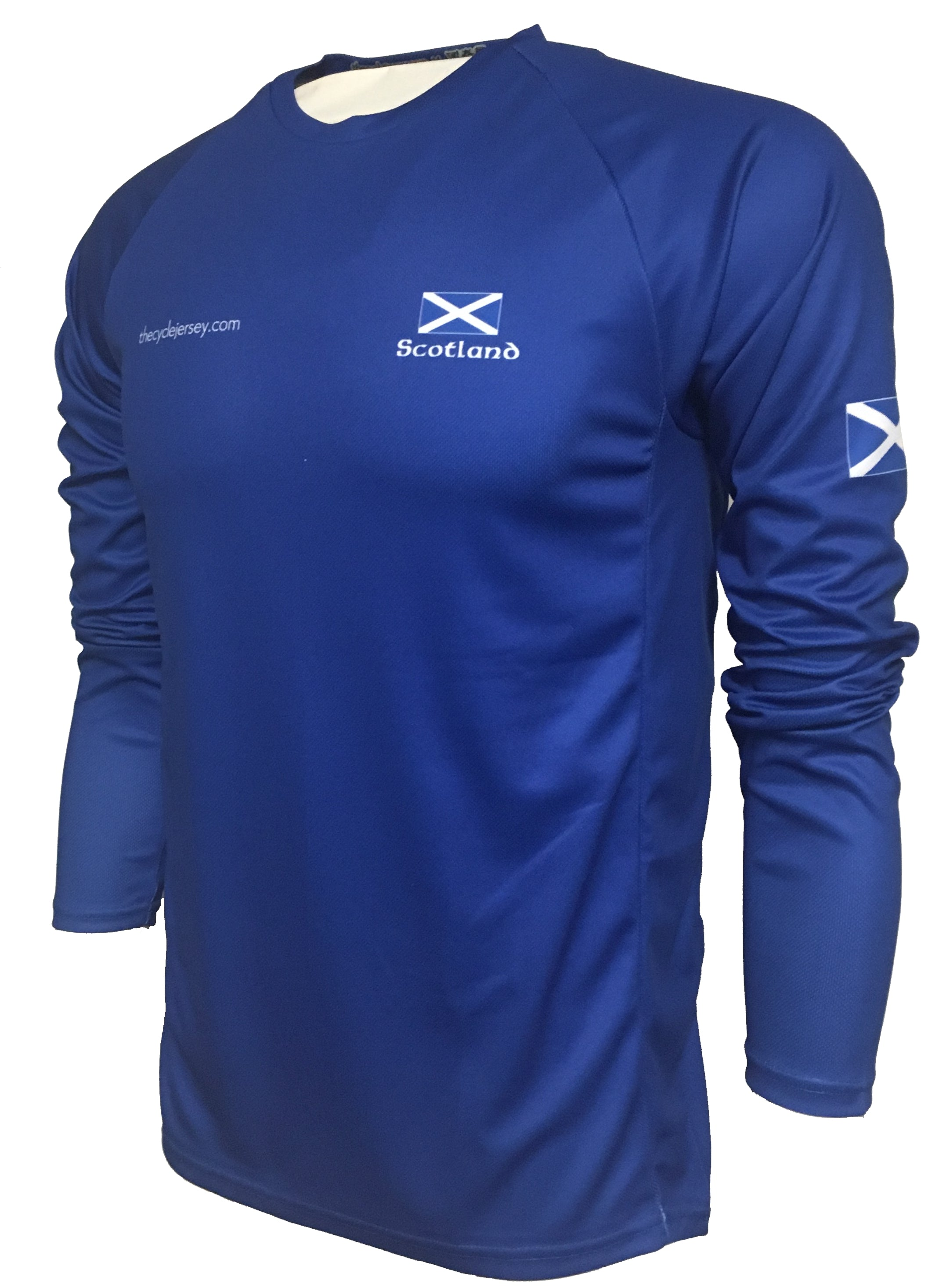 Scotland Original Enduro Cycle Jersey Front