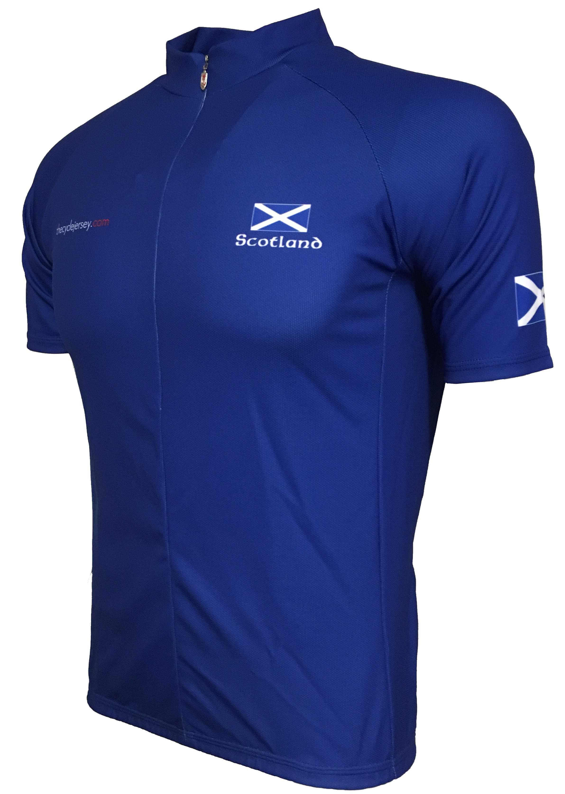 Scotland Original Road Cycle Jersey Front