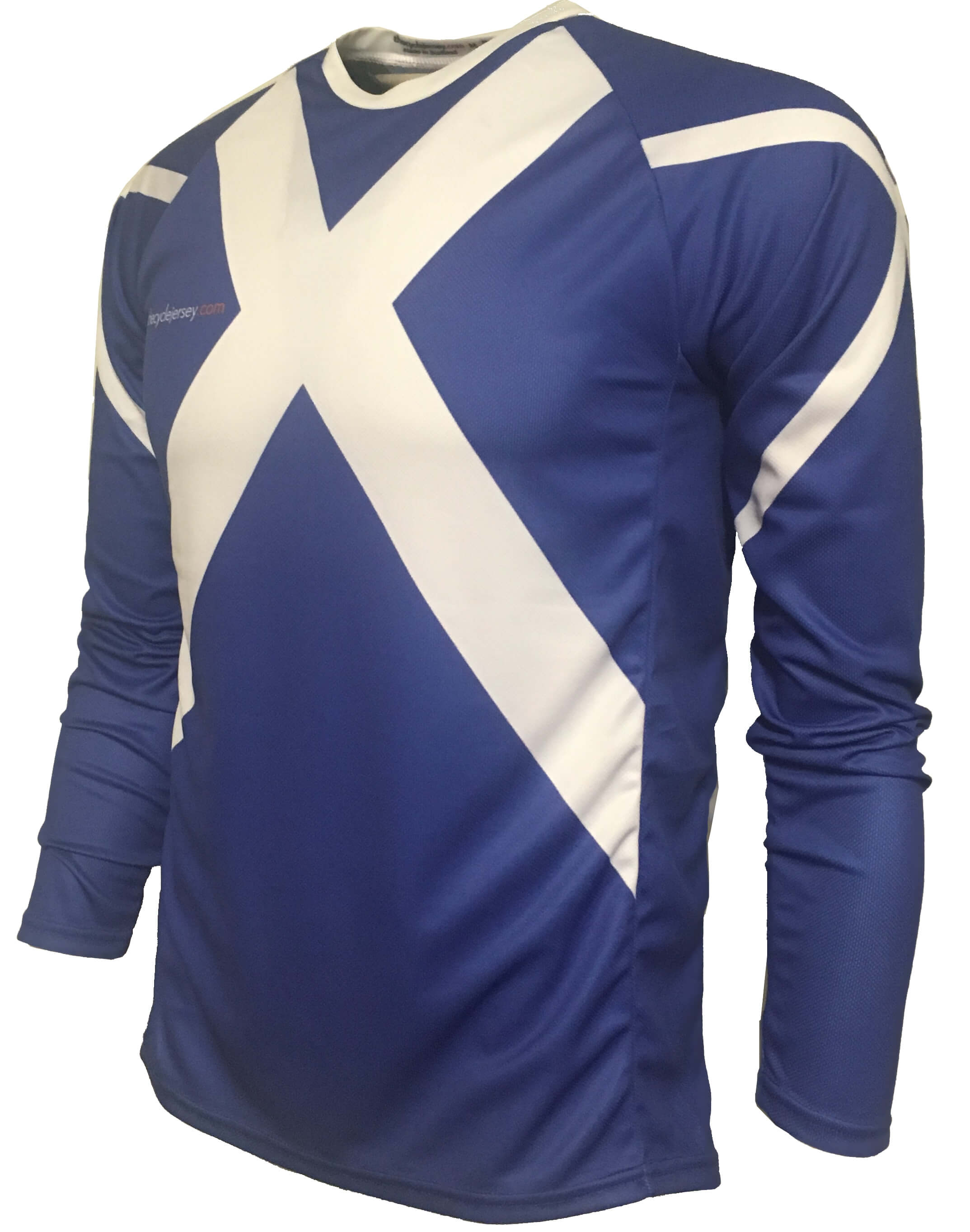 Scotland Saltire Enduro Cycle Jersey Front