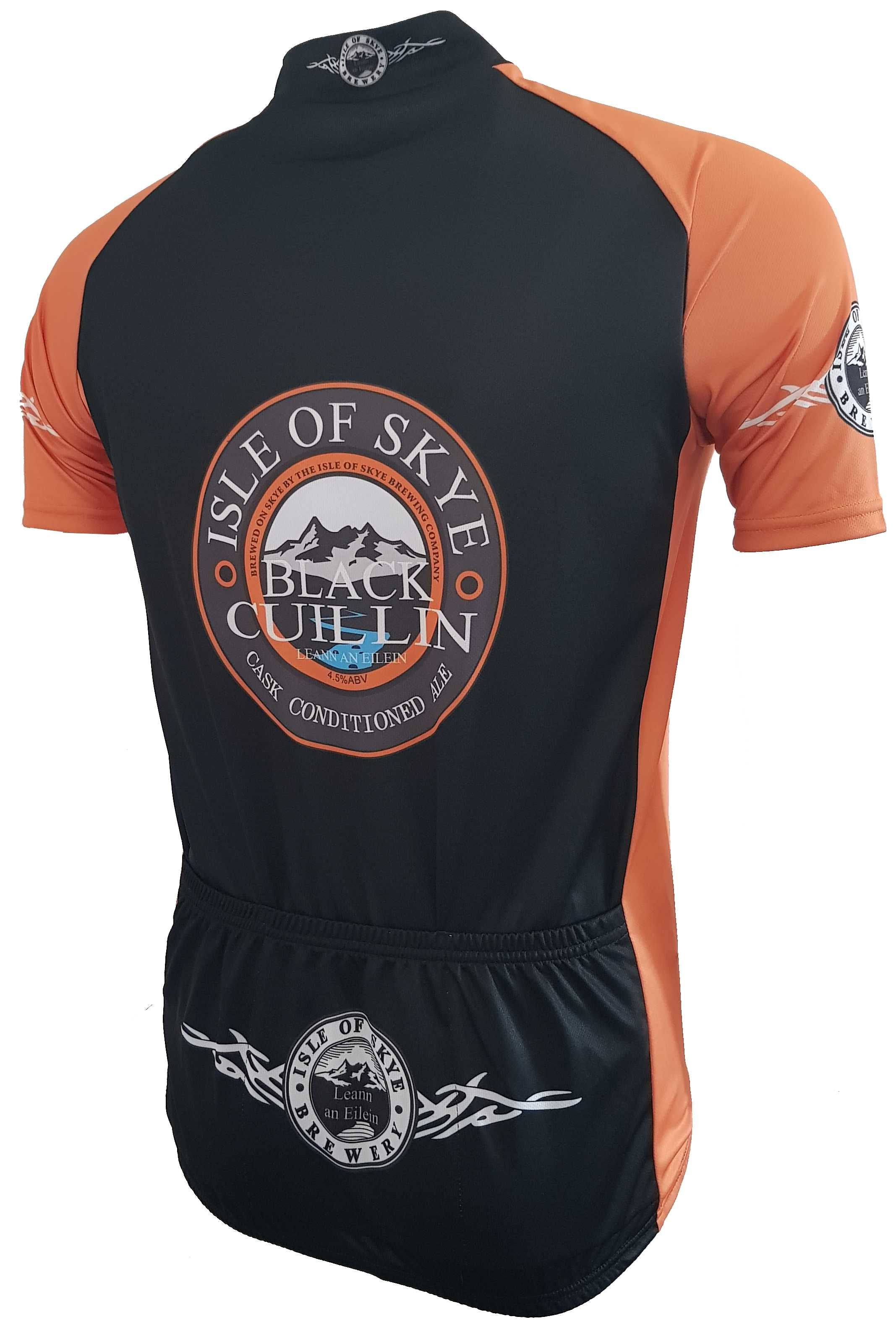 Isle of Skye Brewery Beer Road Cycling Jersey Back