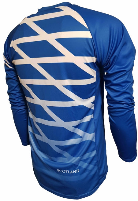 Scotland Flag Enduro Jersey Back