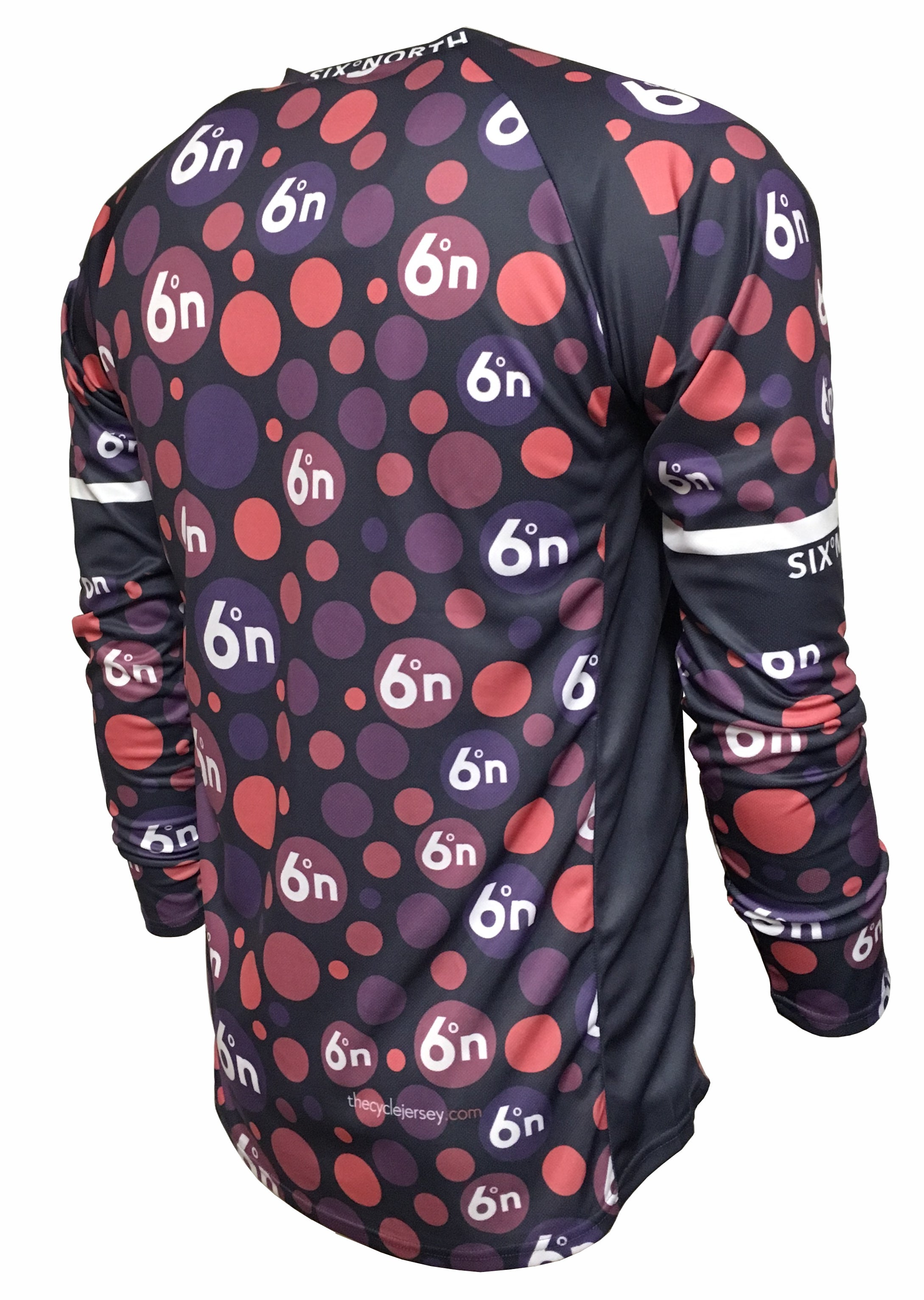 Six Degrees North Brewery Beer Enduro Jersey Back