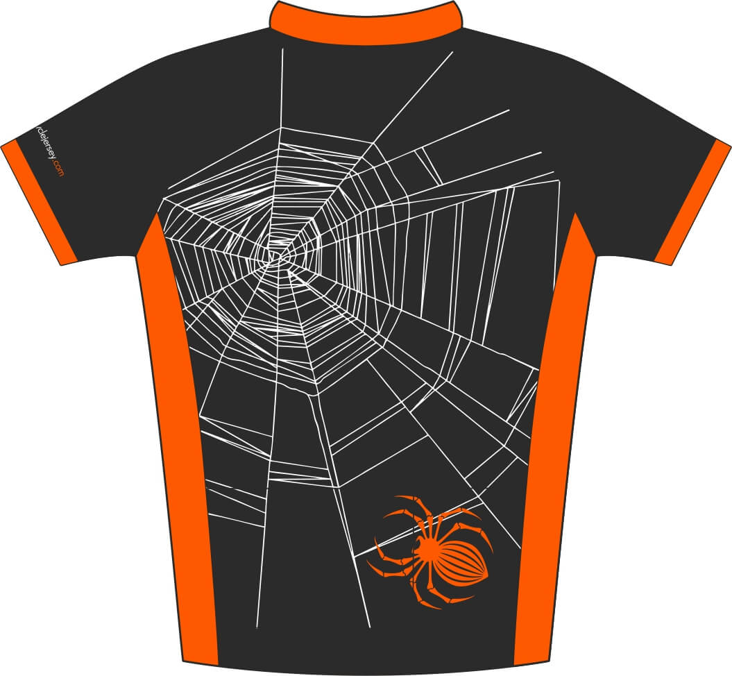 Halloween Design Kids Road Jersey Back
