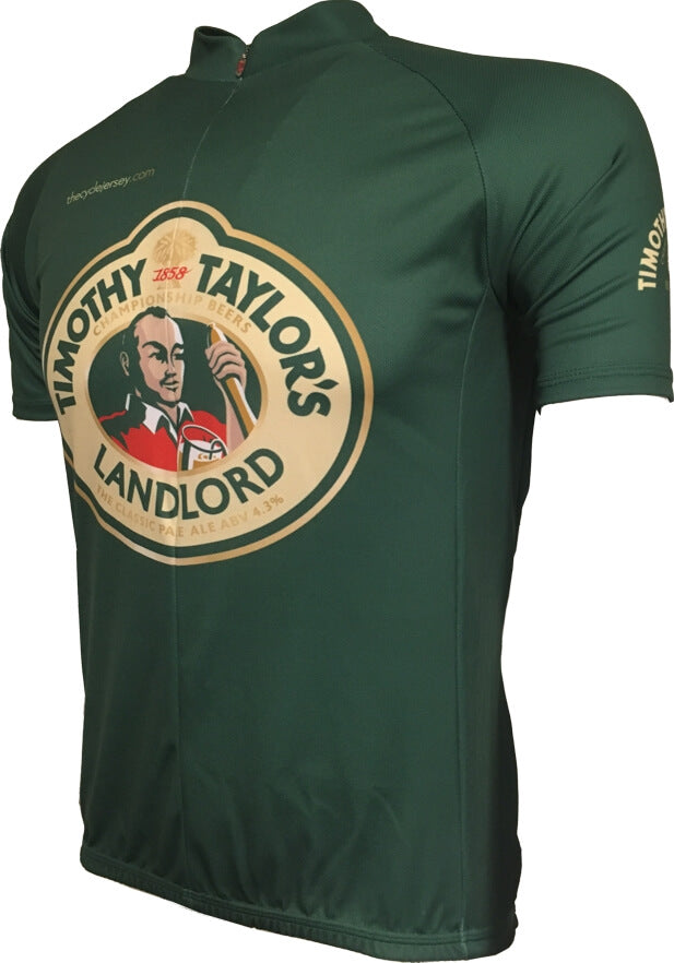 Timothy Taylor Beer Championship Green Road Jersey Front
