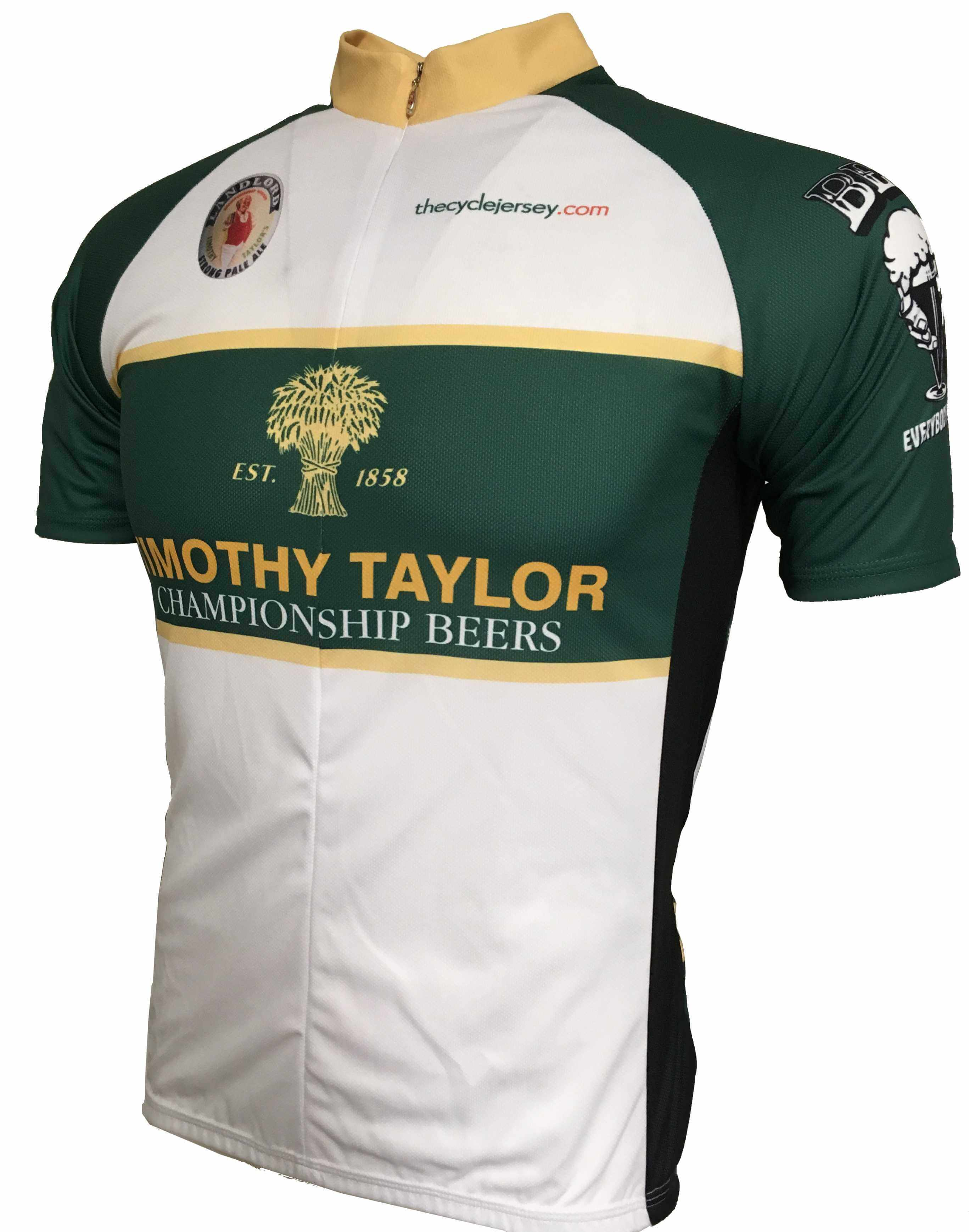 Timothy Taylor Original Road Cycling Jersey Front