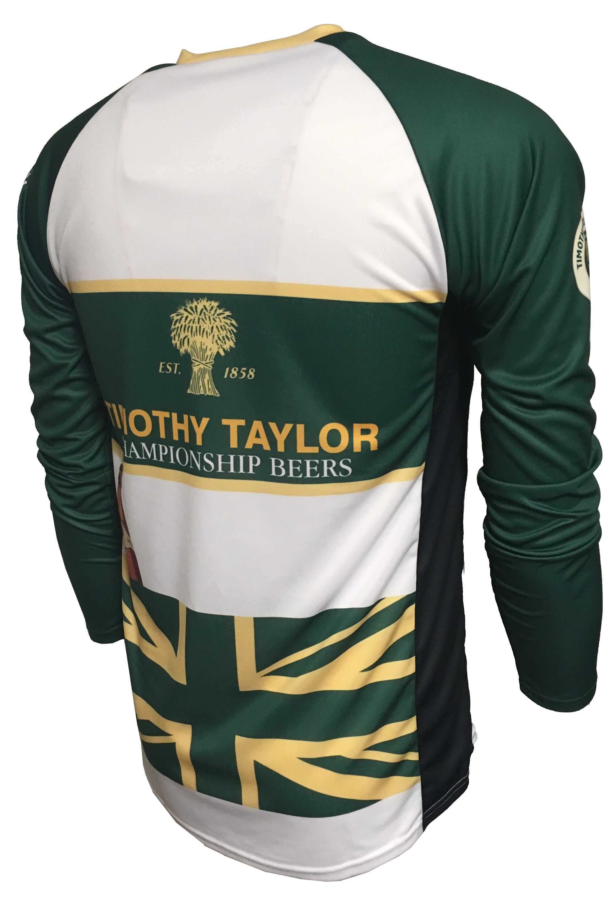 Timothy Taylor original enduro cycling jersey back