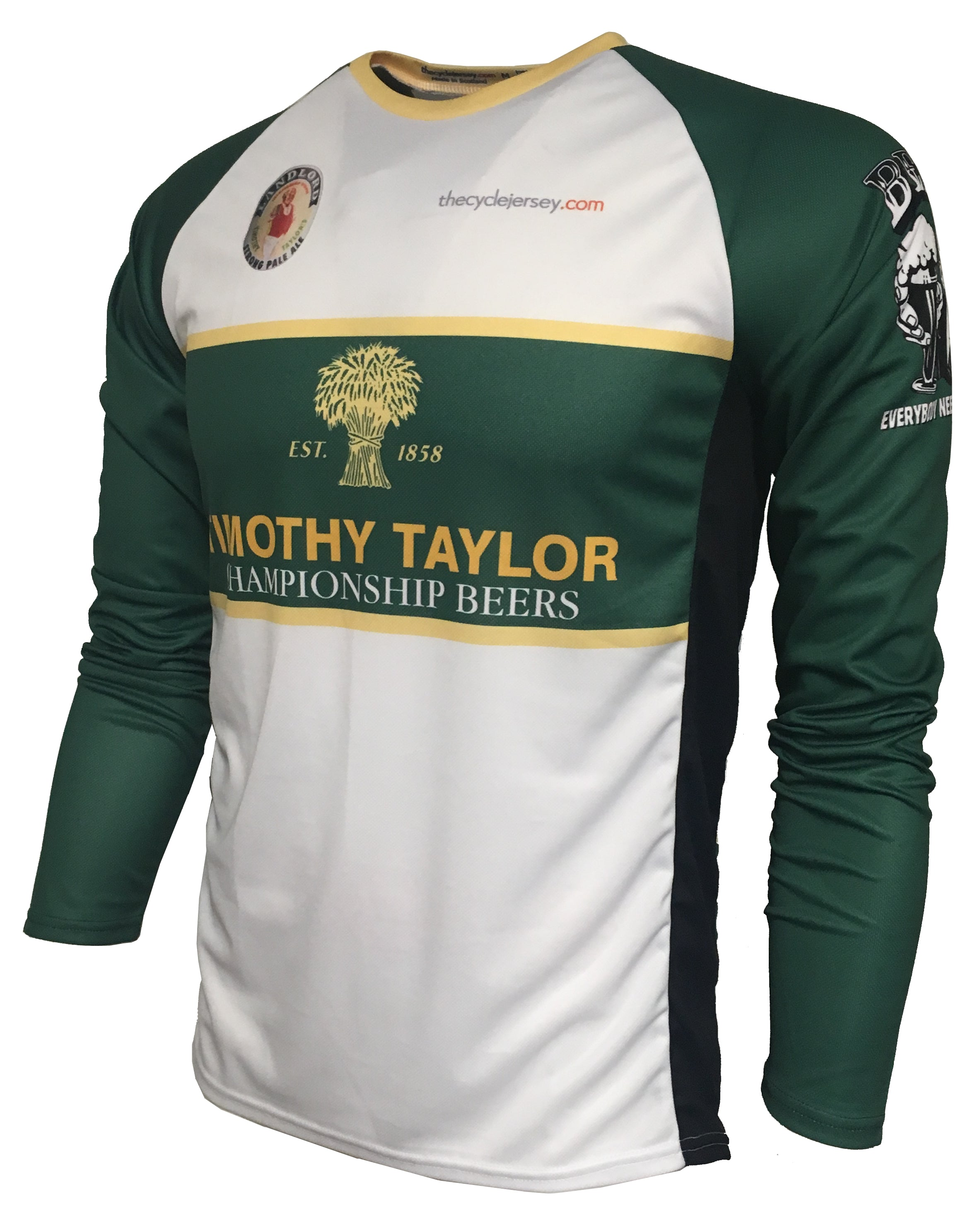 Timothy Taylor original enduro cycling jersey front