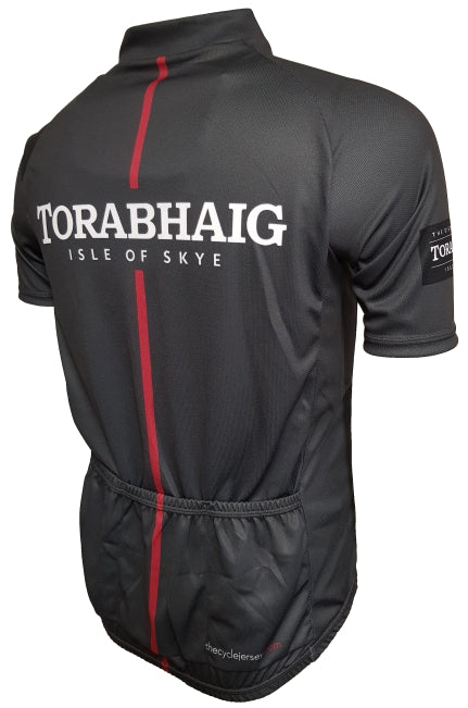 Torabhaig Whisky Red Road Cycling Jersey Back