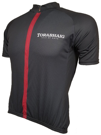 Torabhaig Whisky Red Enduro Cycling Jersey Front