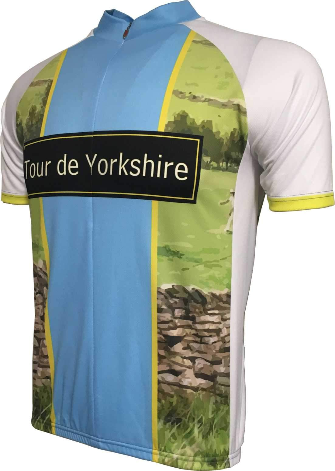 Tour De Yorkshire Cycling Jersey Front