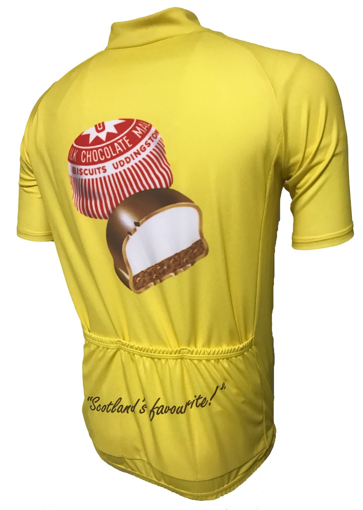 Tunnocks Tea Cake Road Jersey Back