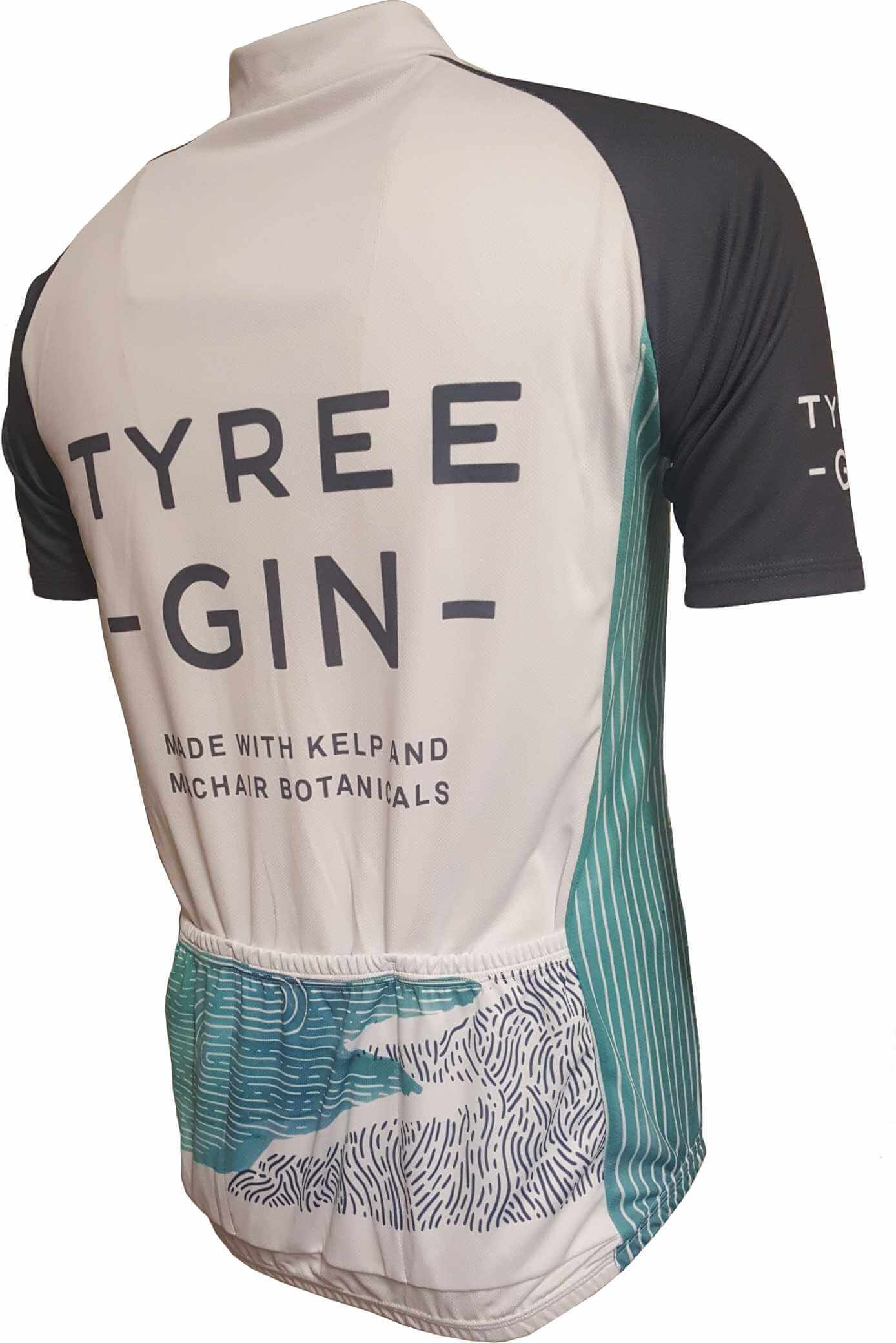 Tyree Gin Road Jersey Back