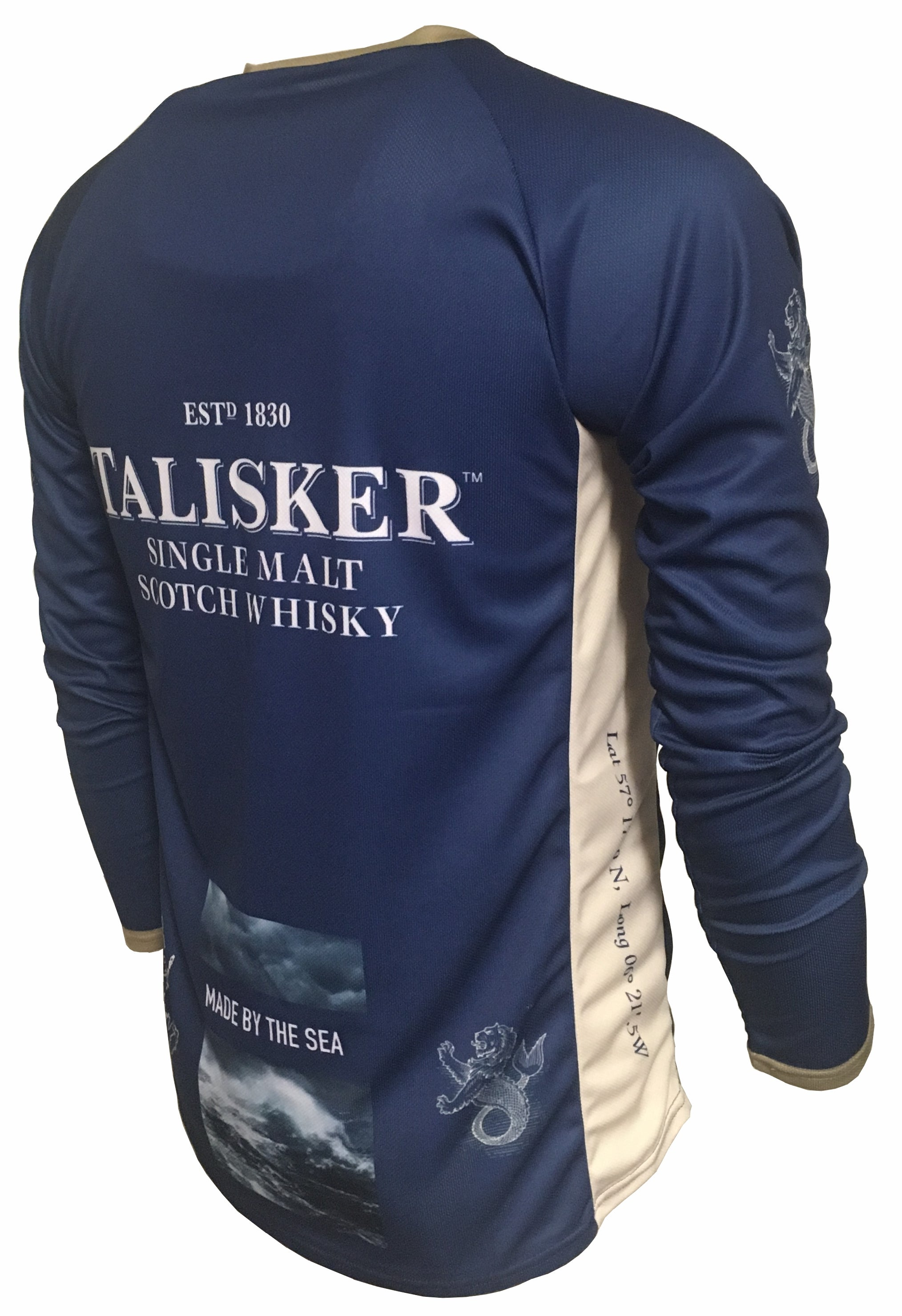 Talisker Whisky Enduro Jersey Back