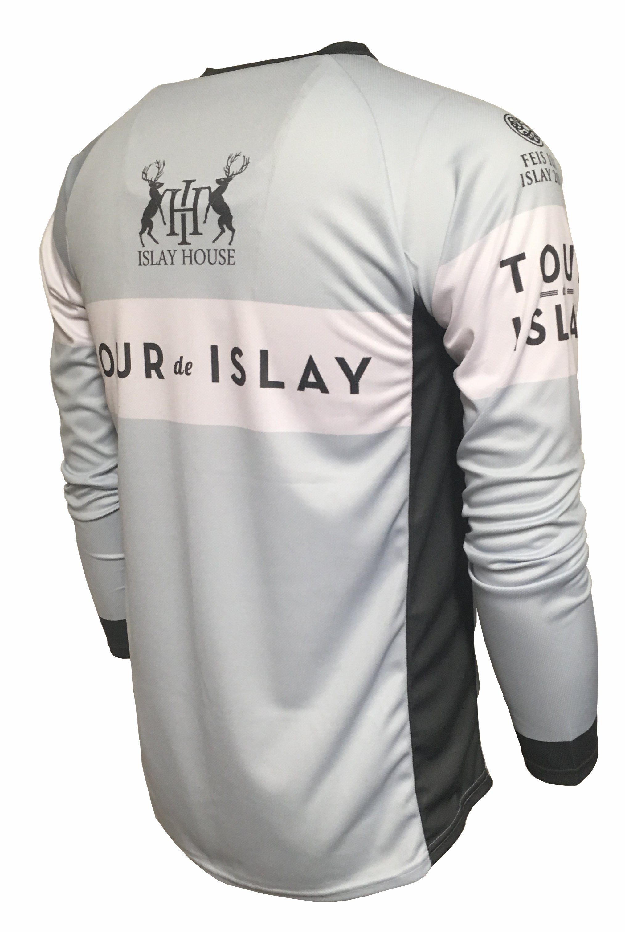 Tour De Islay Enduro Cycling Jersey Back
