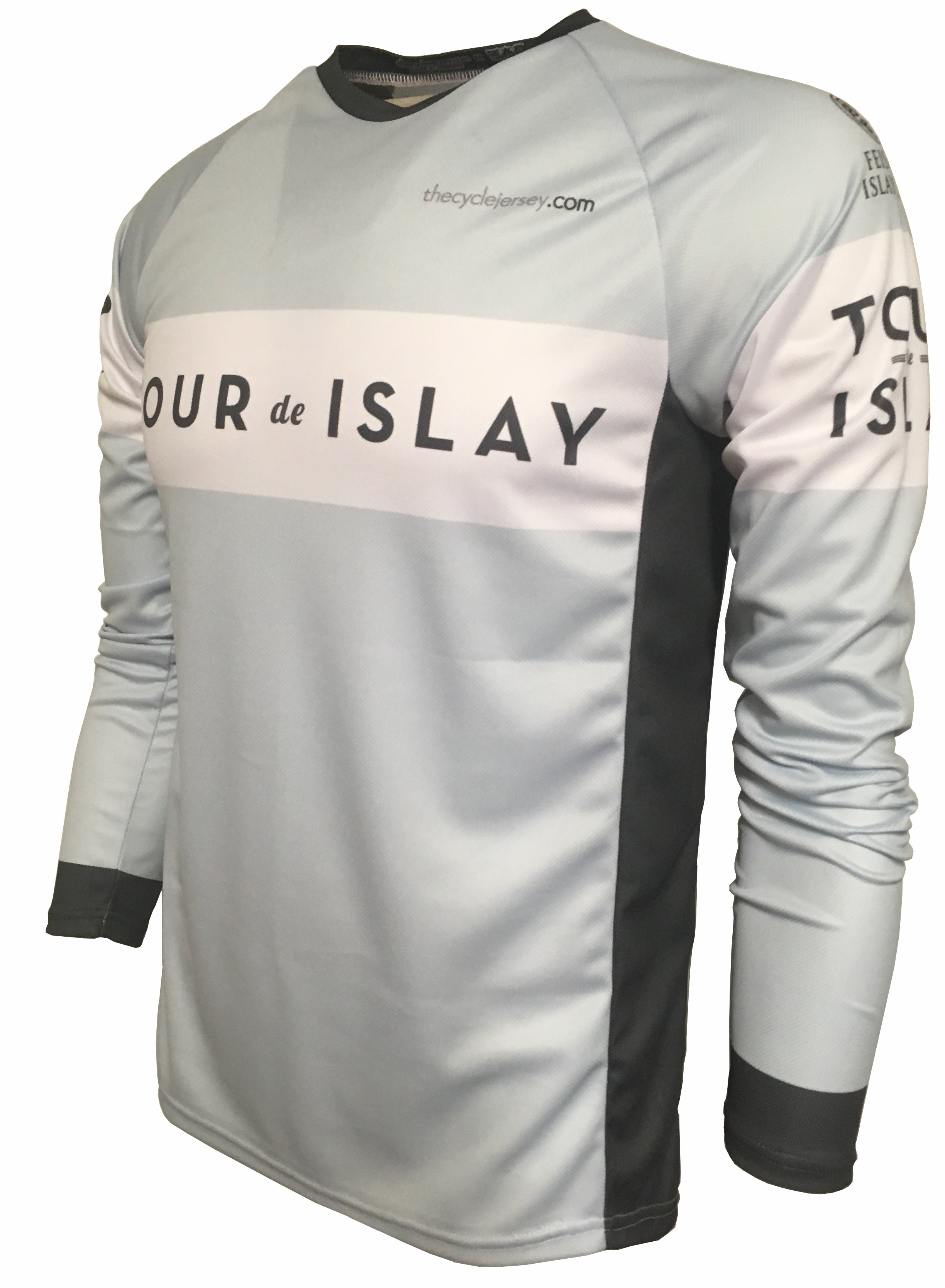 Tour De Islay Enduro Cycling Jersey Front