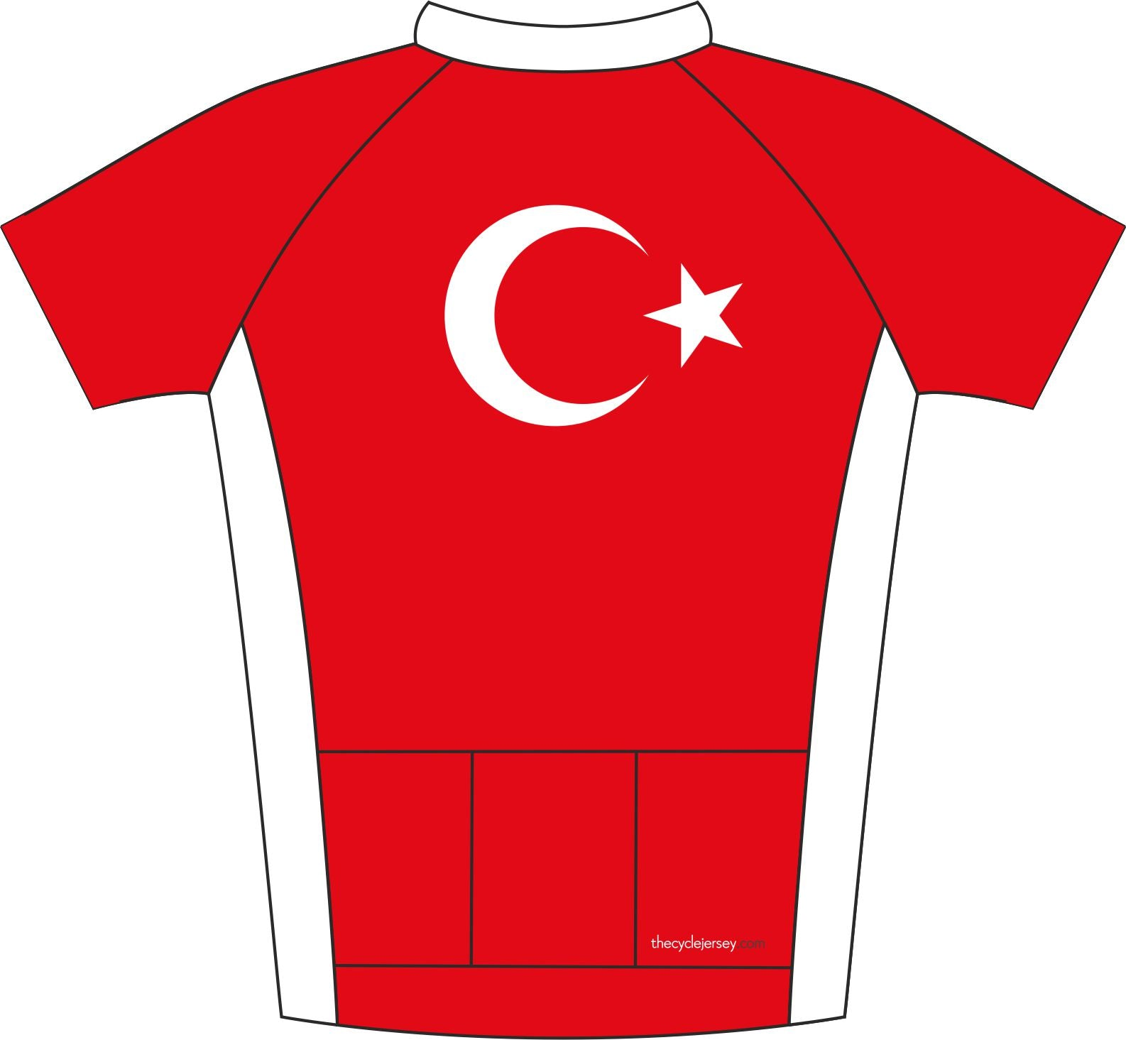 Turkey Road Jersey Back