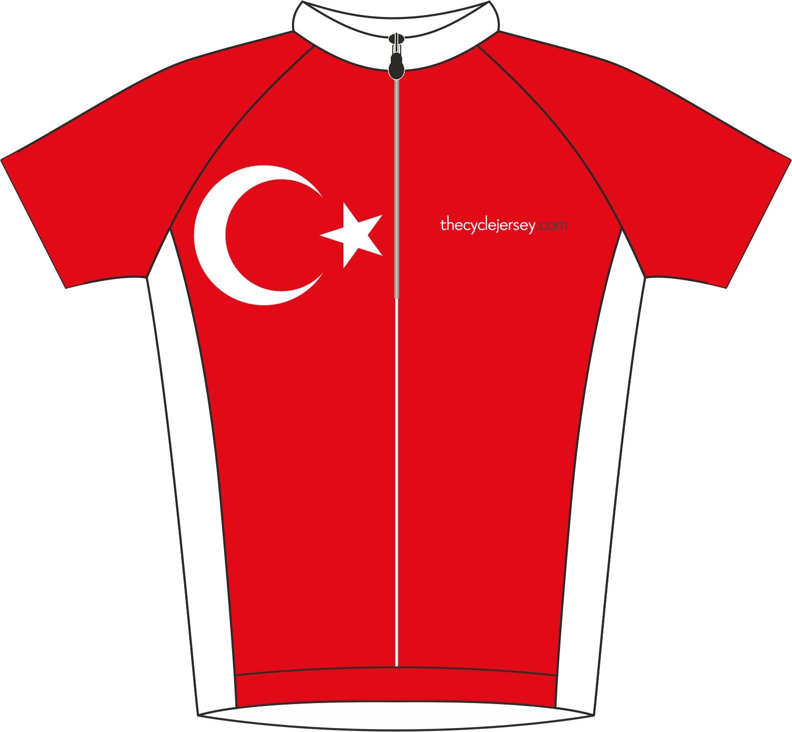 Turkey Enduro Jersey Front
