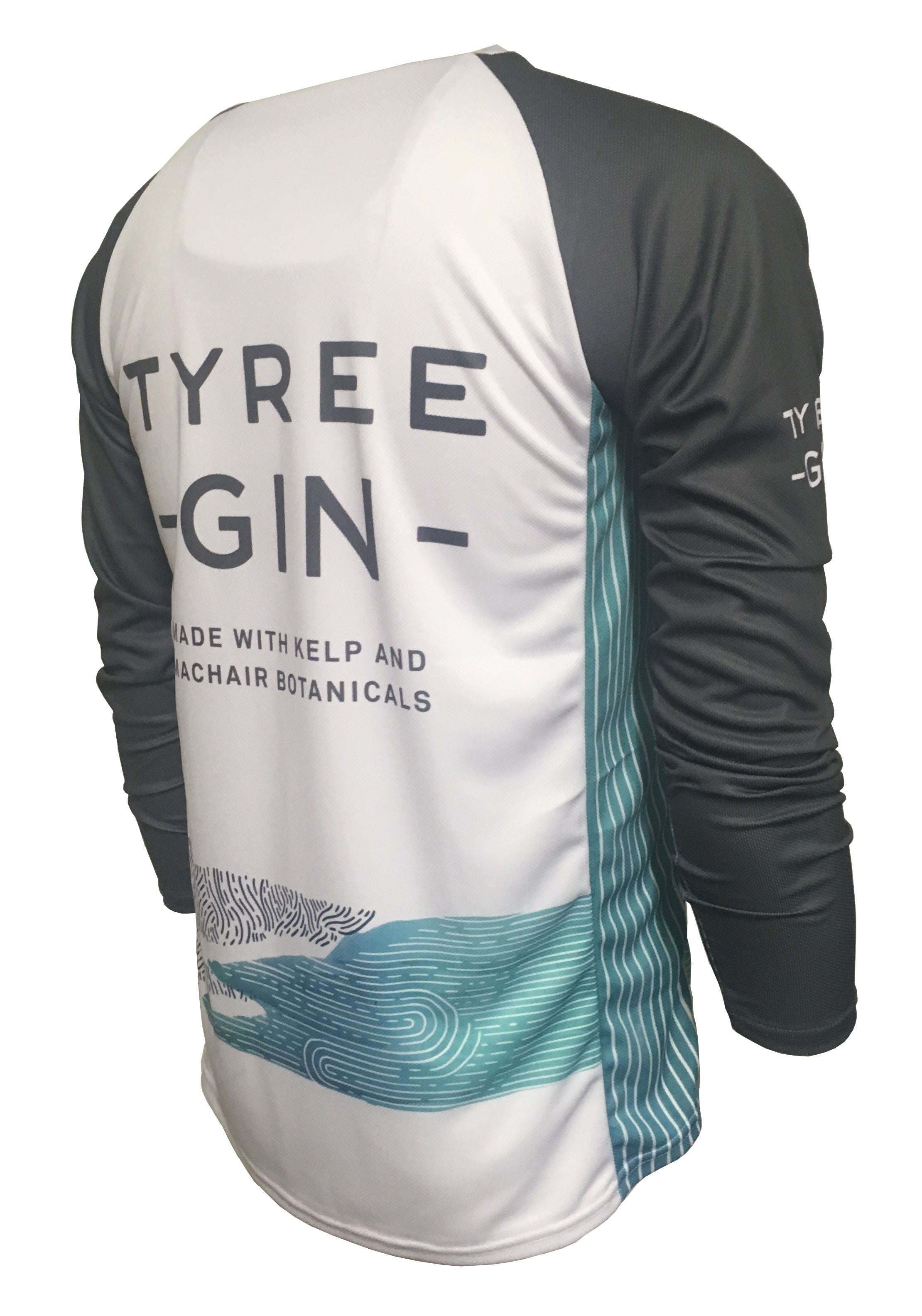 Tyree Gin Enduro Jersey Back