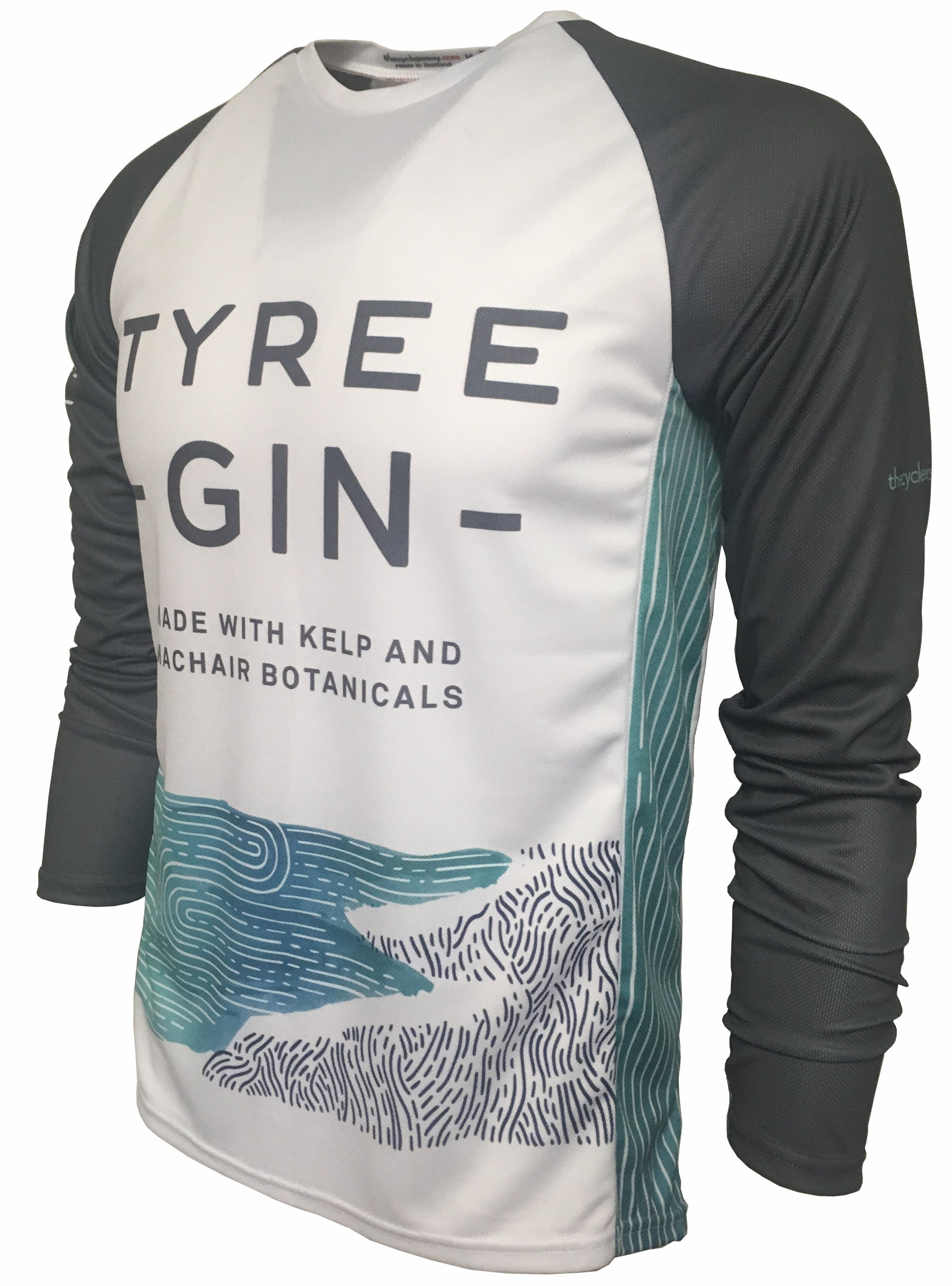 Tyree Gin Enduro Jersey Front