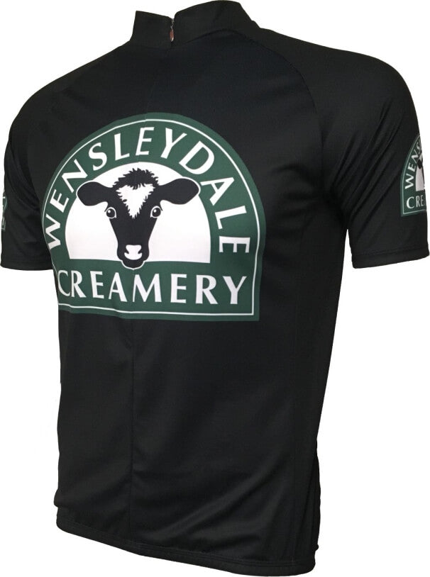 Wensleydale Cheese Creamery Kids Road Cycling Jersey Front