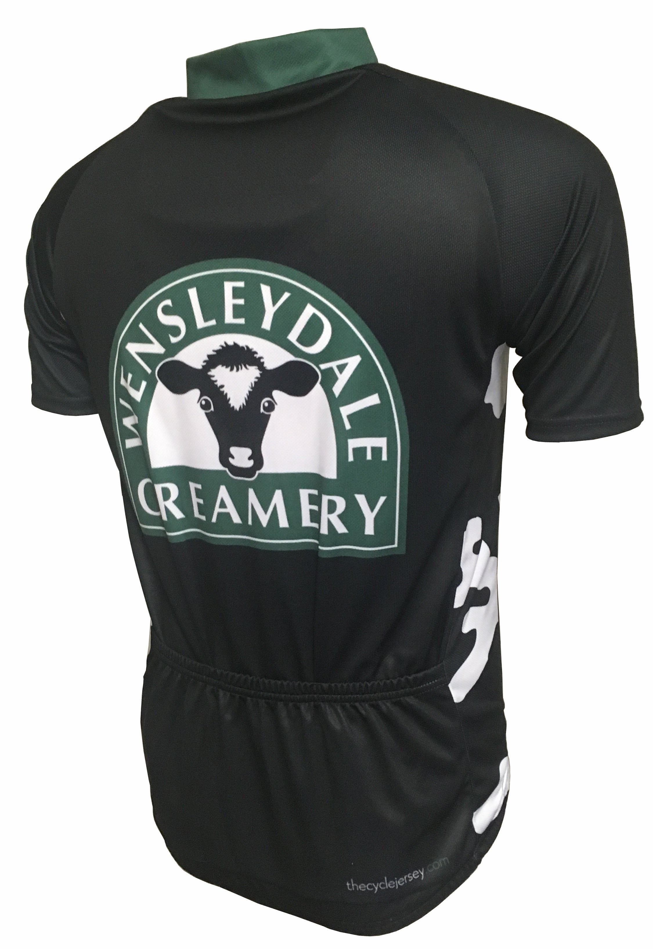 Wensleydale Creamery Cow Print Road Jersey Back