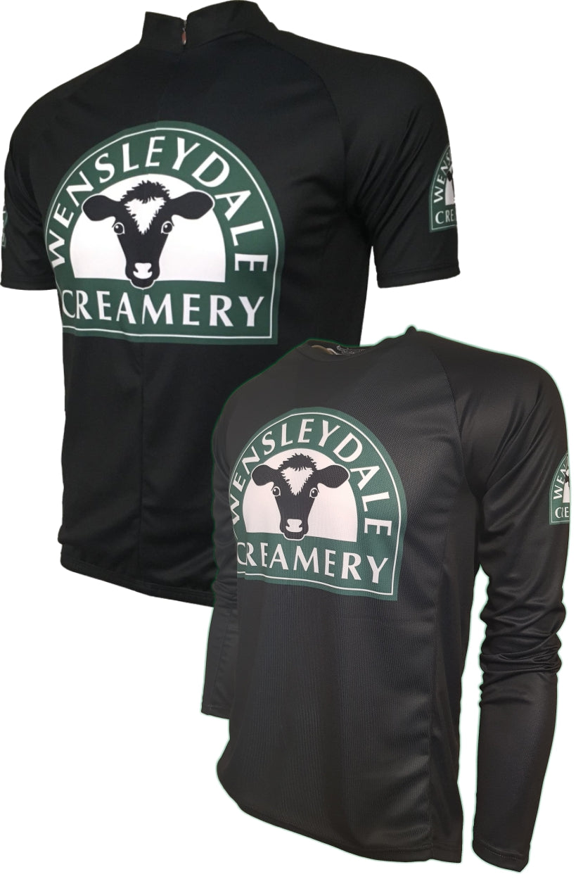 Wensleydale Cheese Creamery Kids Cycling Jersey Thumbnail