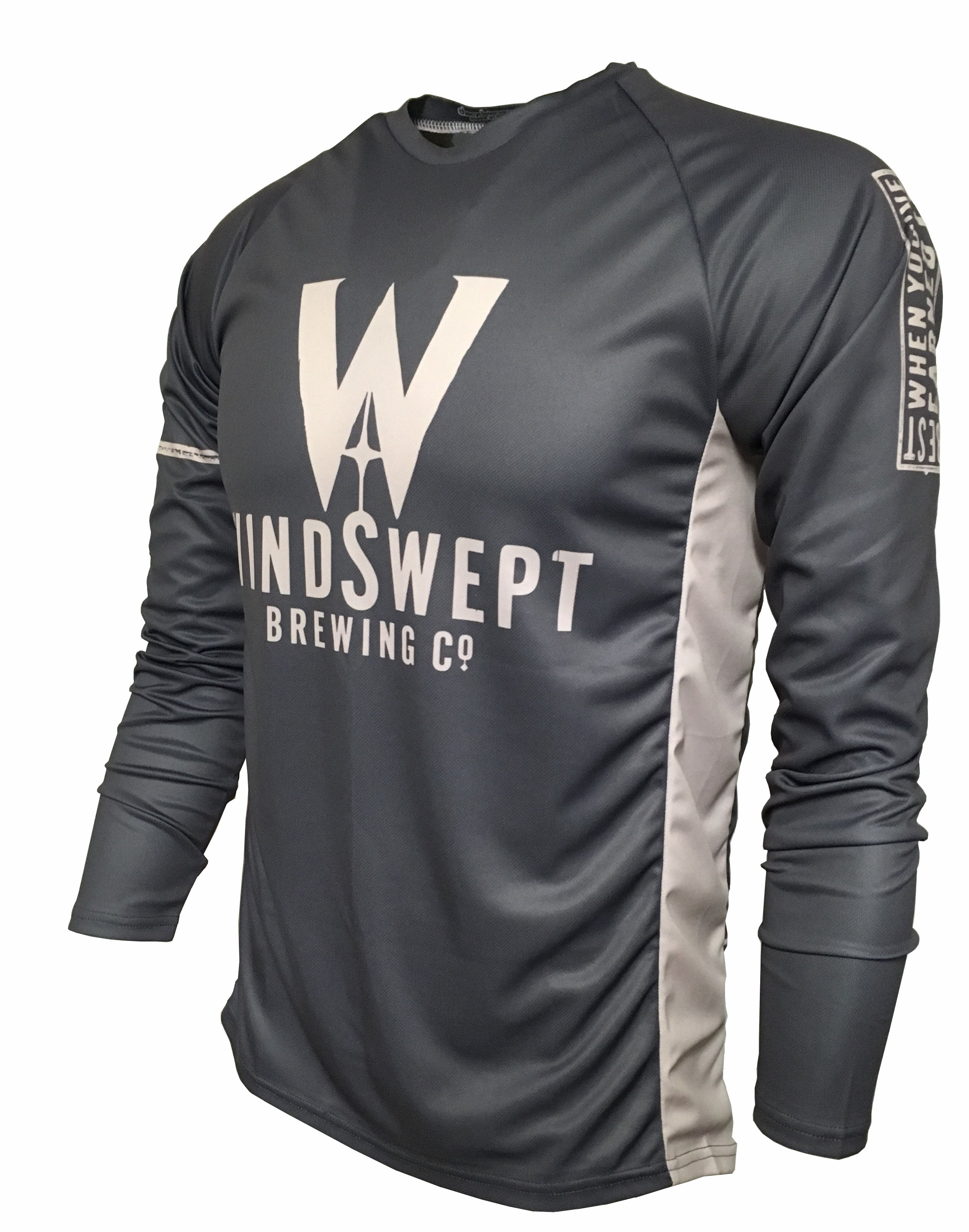 Windswept Brewing Enduro jersey Front