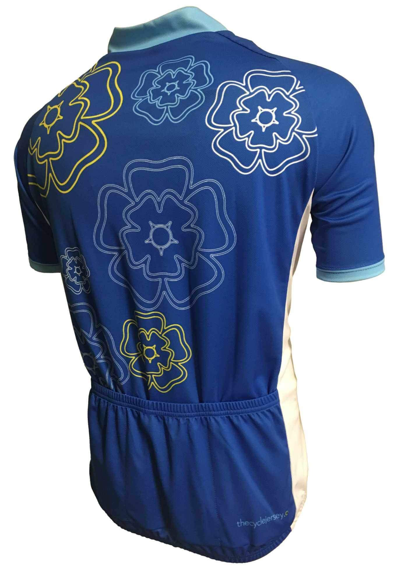 Yorkshire Rose Cycling Jersey Back