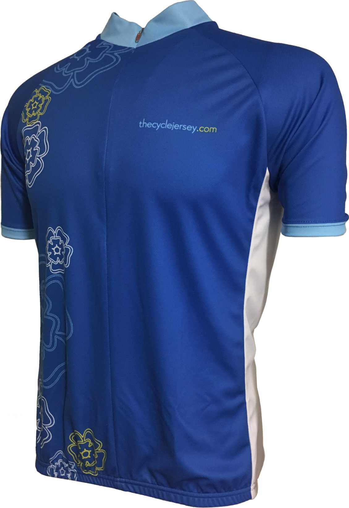 Yorkshire Rose Kids Cycle Jersey Front