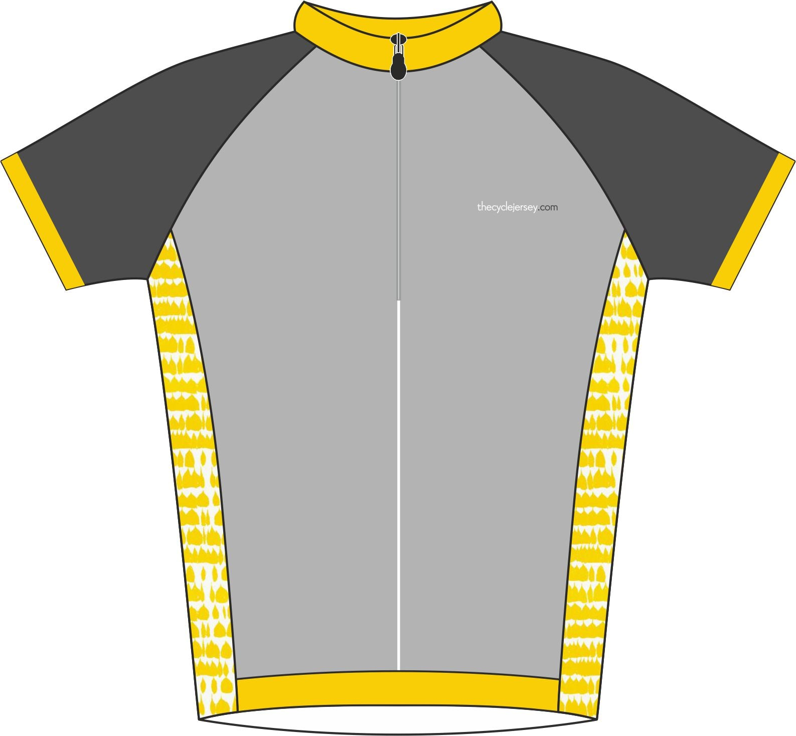 Hint of Yellow Enduro Jersey Front