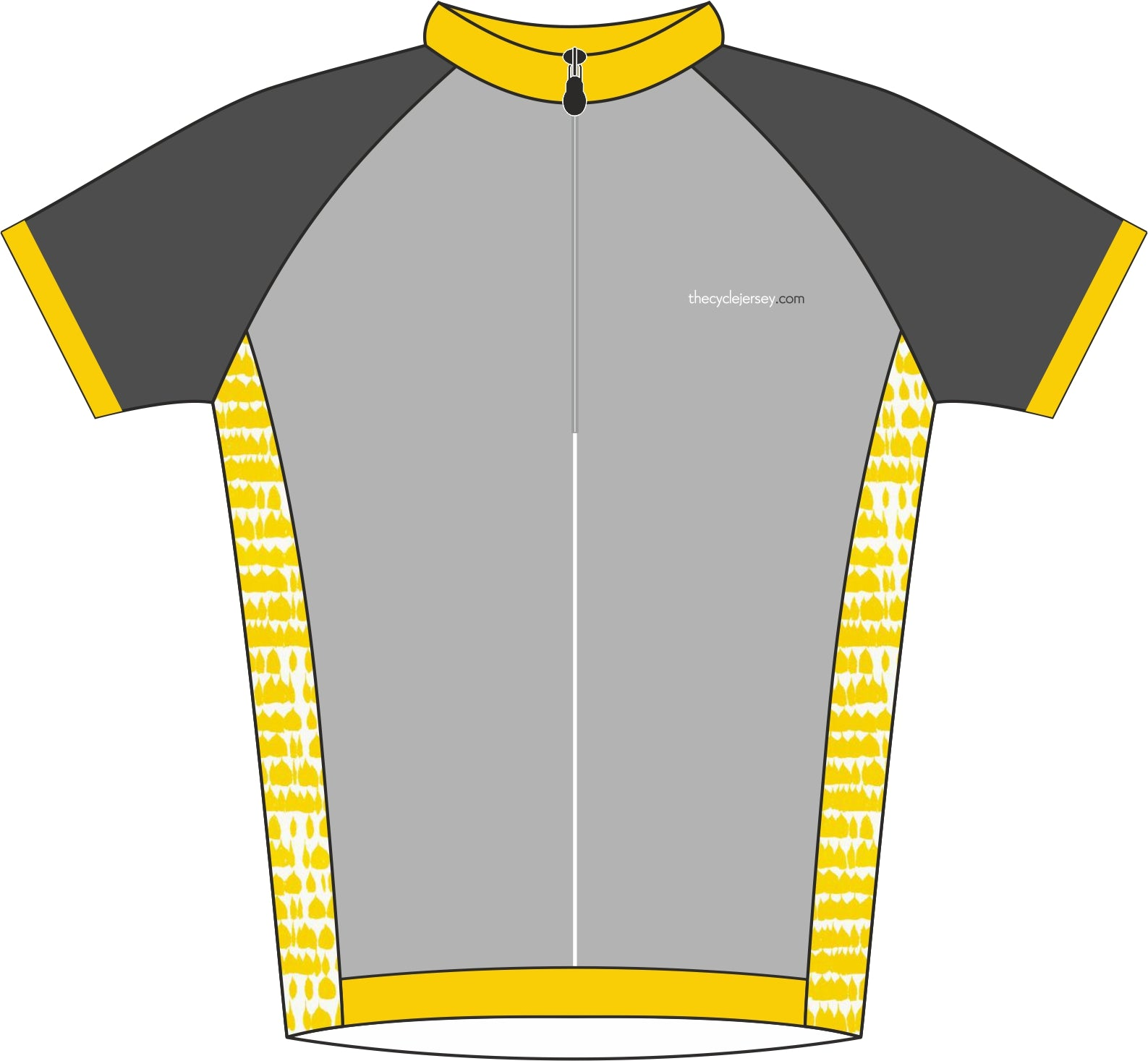 Yellow Kids Jersey Front