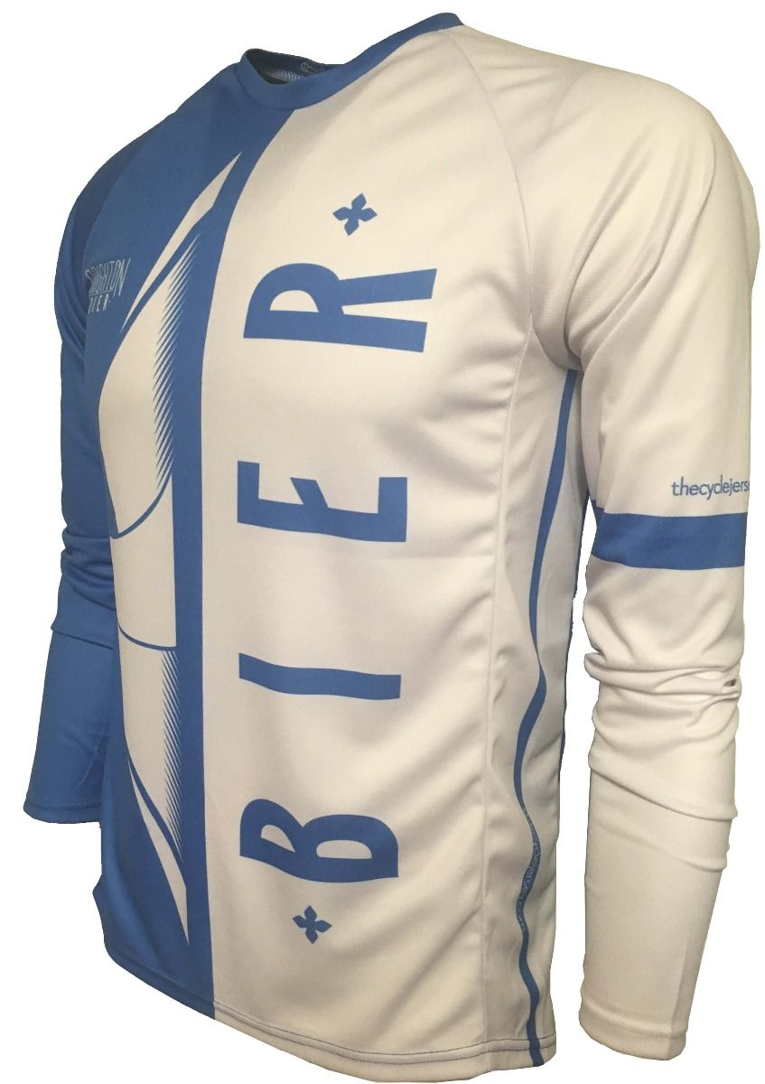 Brighton Bier Can Beer Enduro Cycle Jersey Front