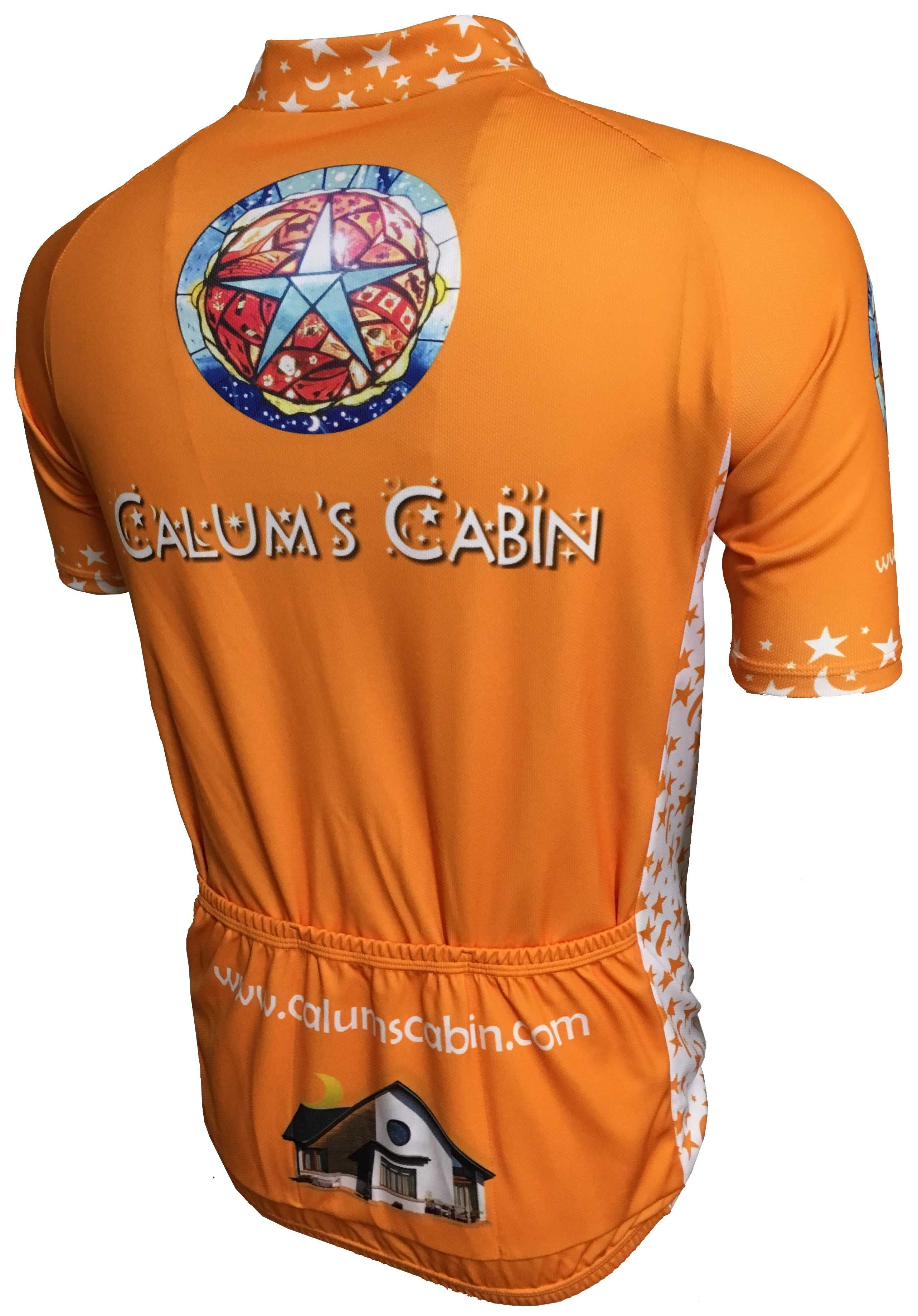 Calum's Cabin Road Cycle Jersey Back