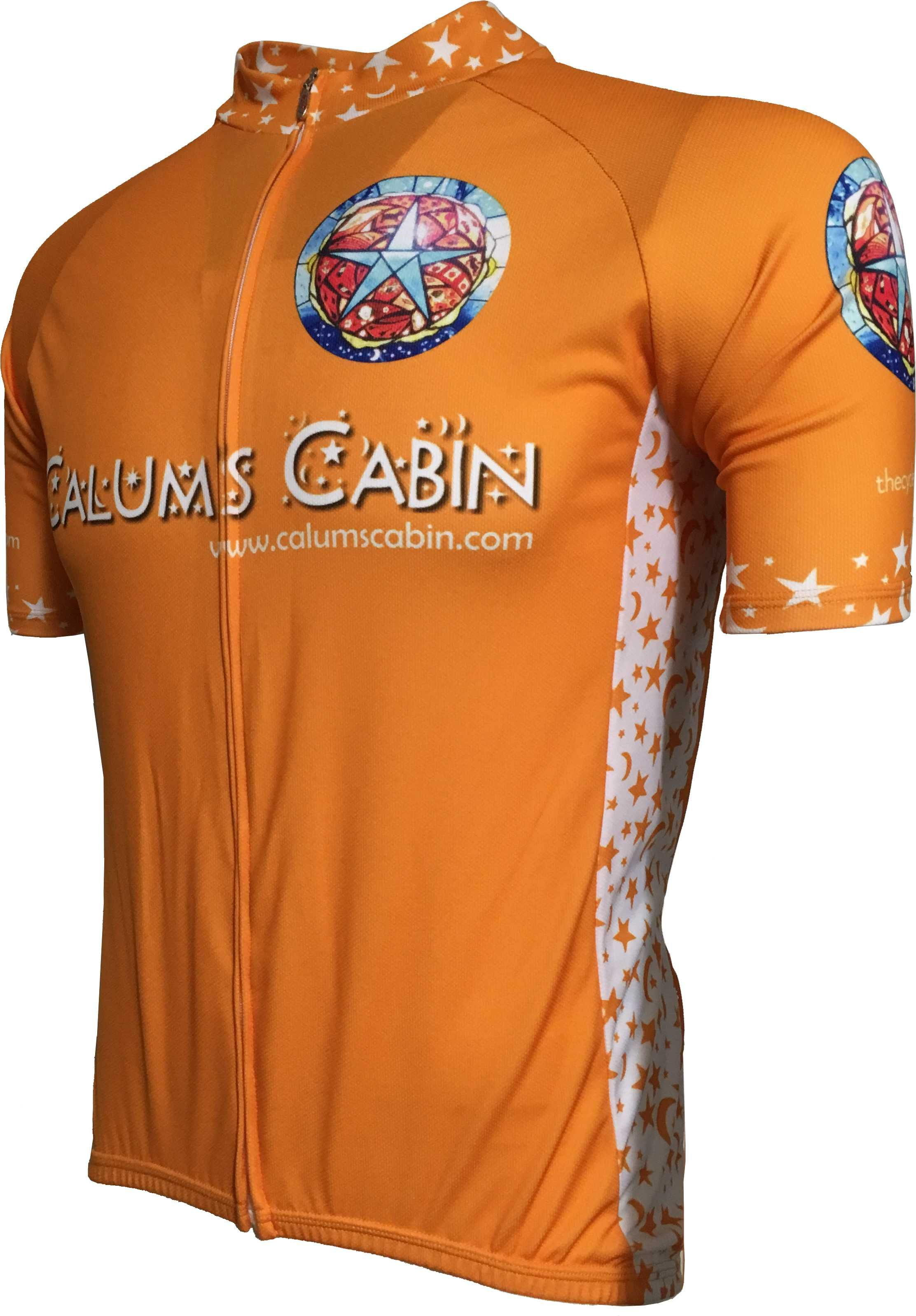 Calum's Cabin Road Cycle Jersey Front