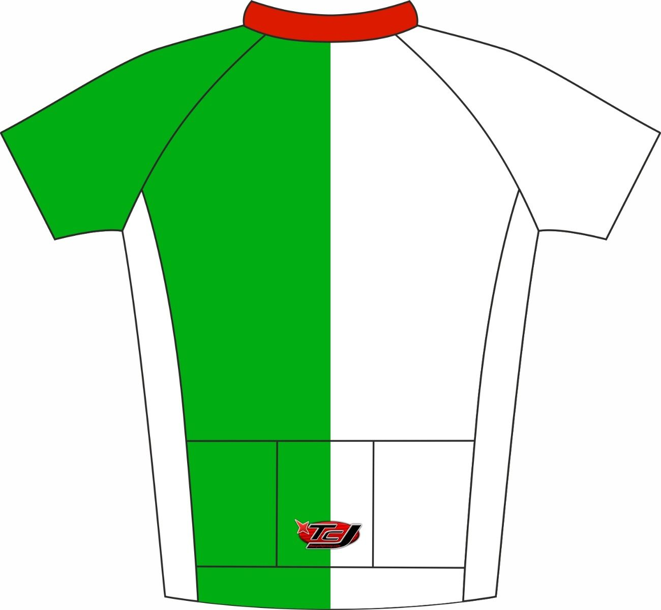 Famous 4 Enduro Cycle Jersey Back