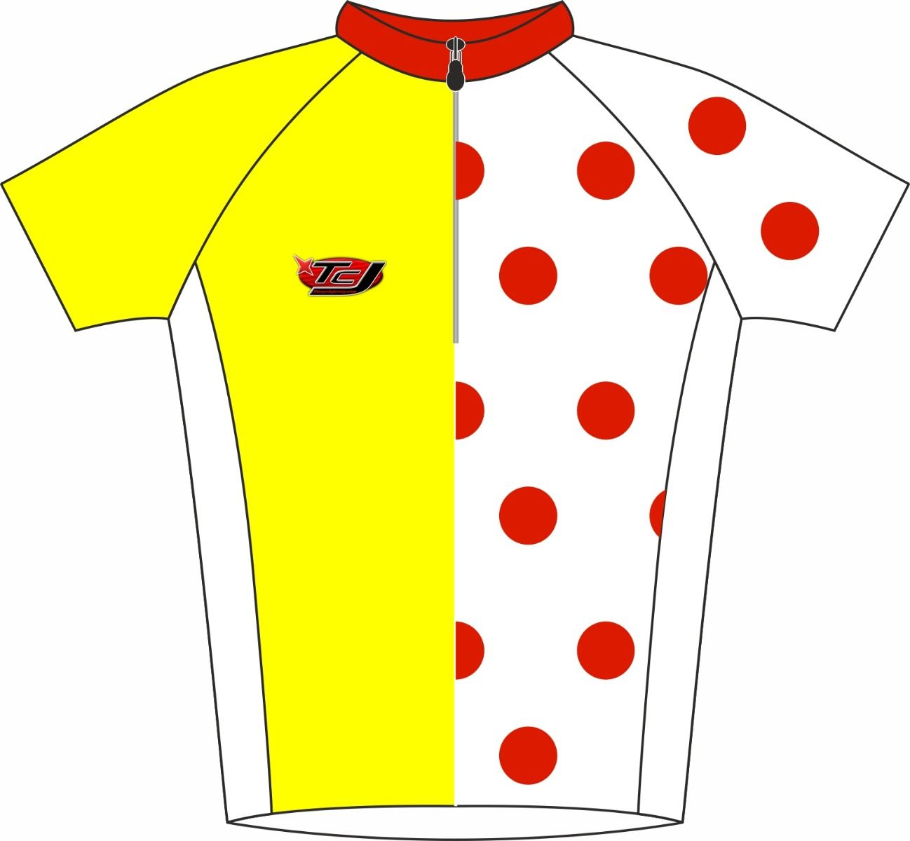 Famous 4 Road Cycle Jersey Front