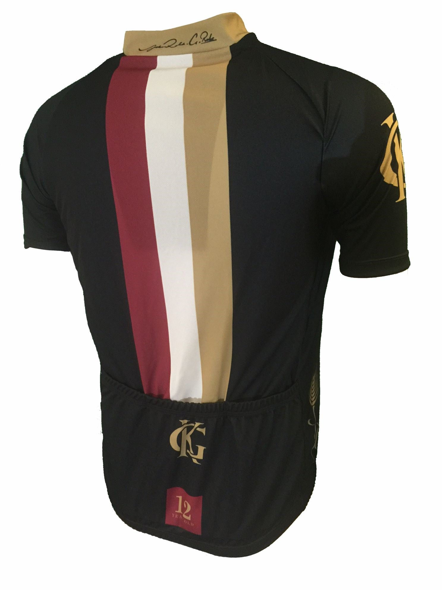 Glenkinchie Road Cycling Jersey Back