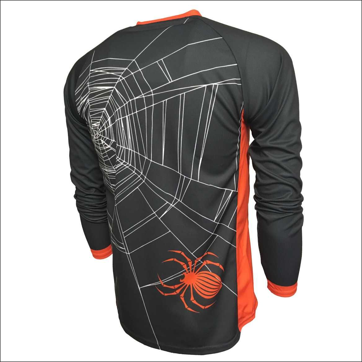 Halloween Design Kids Enduro Jersey Back