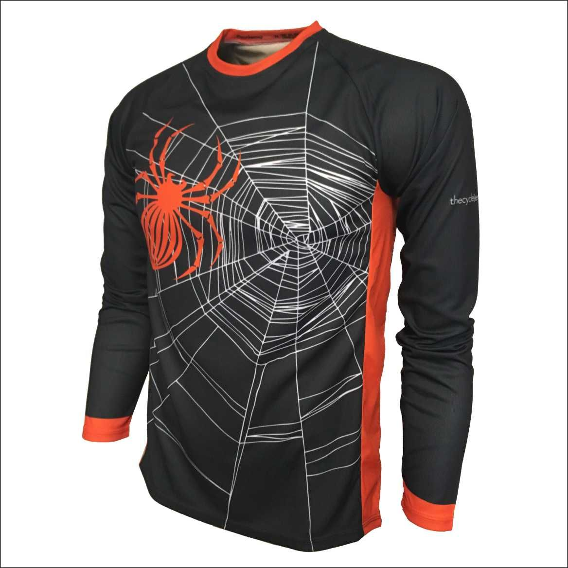 Halloween Design Kids Enduro Jersey Front