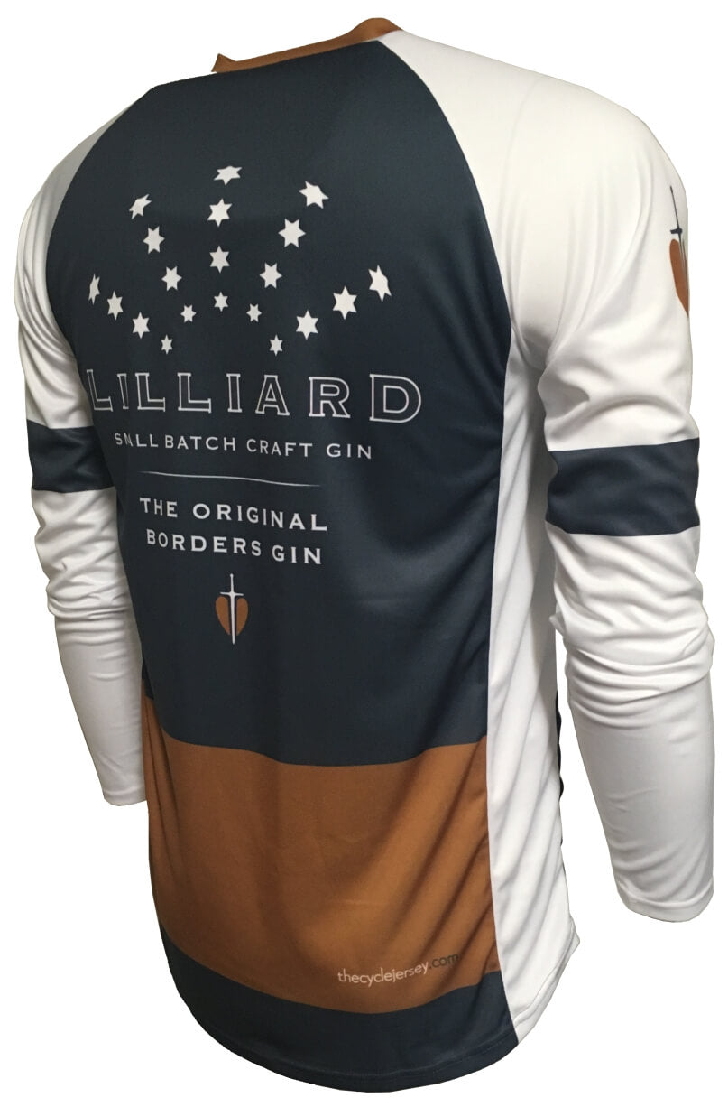 Lilliard Gin Enduro Jersey Back