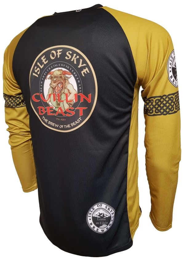 Isle of Skye Beast Enduro Jersey Back