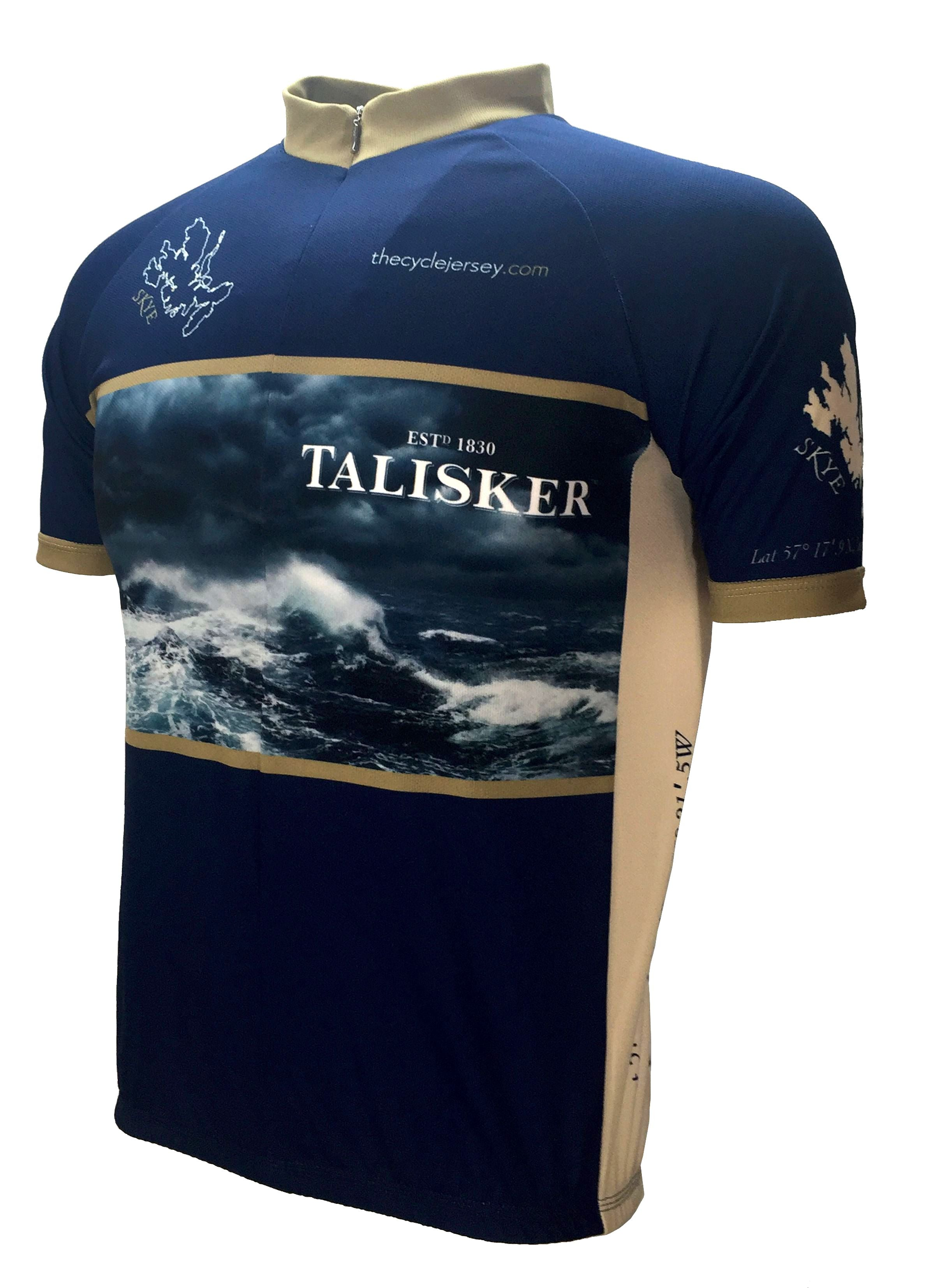 Talisker Whisky Road Jersey Front