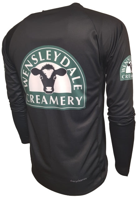 Wensleydale Cheese Creamery Kids Enduro Cycling Jersey Back