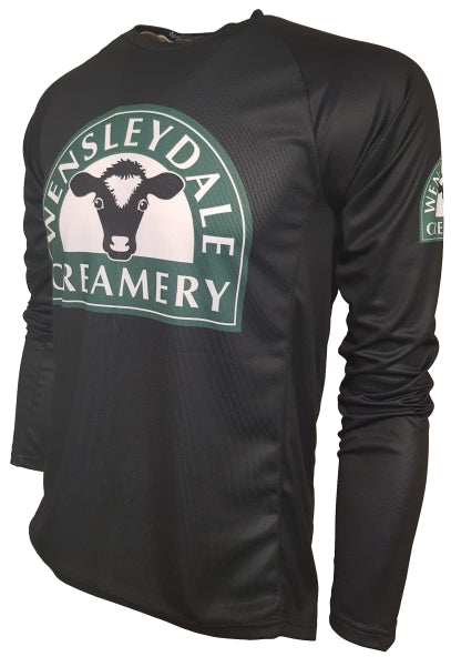 Wensleydale Cheese Creamery Kids Enduro Cycling Jersey Front