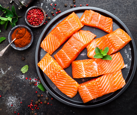 Omega-3, Lachs, Fisch