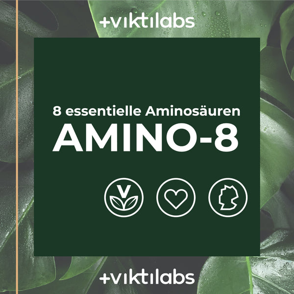 Amino 8 – alle essentiellen Aminosäuren in optimaler Kombination